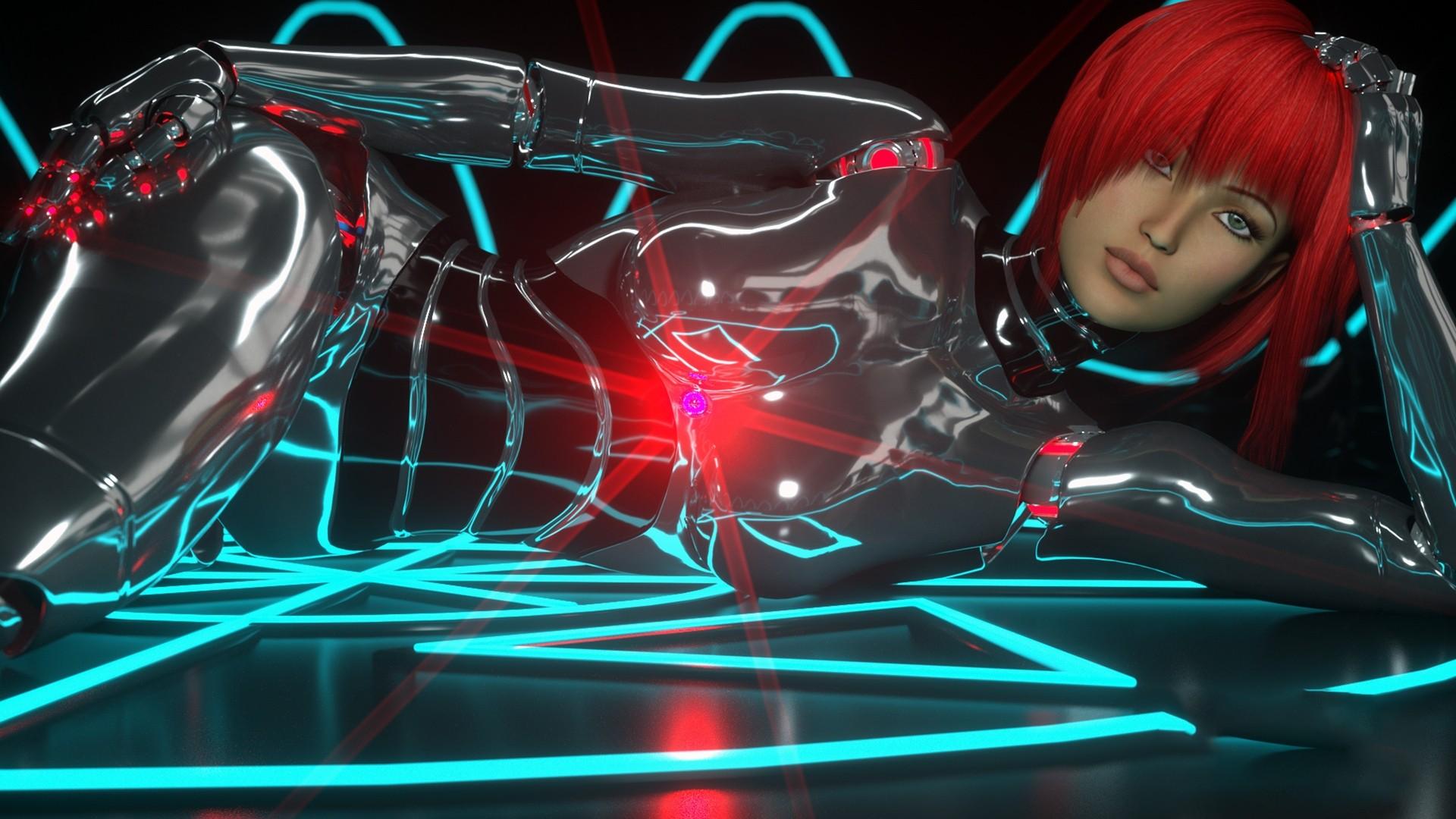 Cyborg Wallpaper Desktop