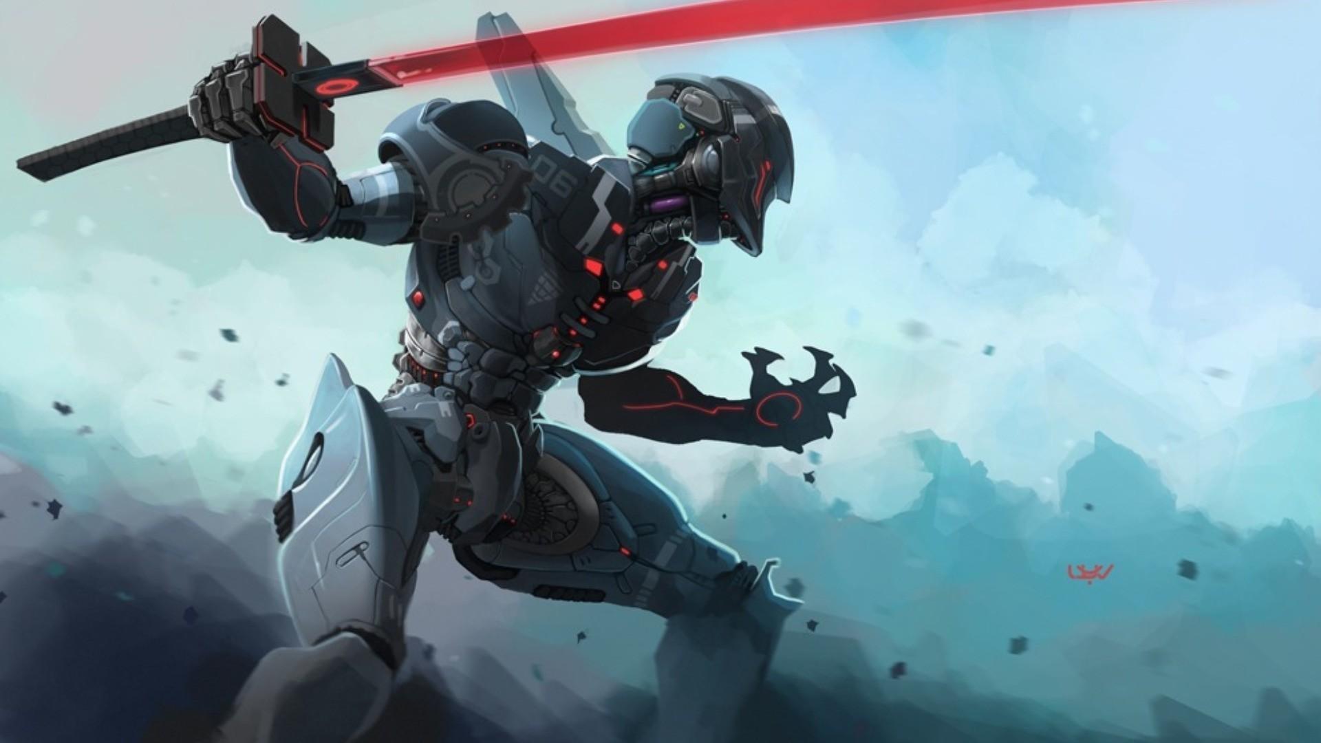 Cyborg Wallpaper Free