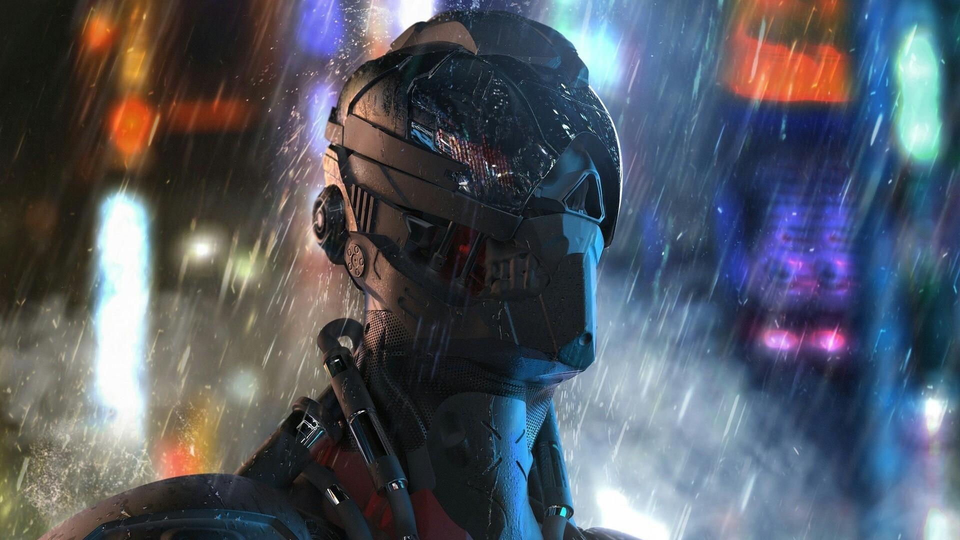 Cyborg Wallpaper Full HD