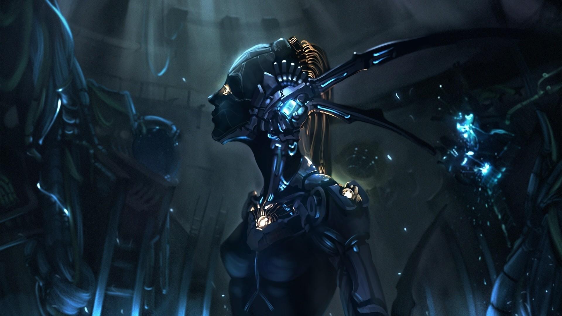 Cyborg Wallpaper HD