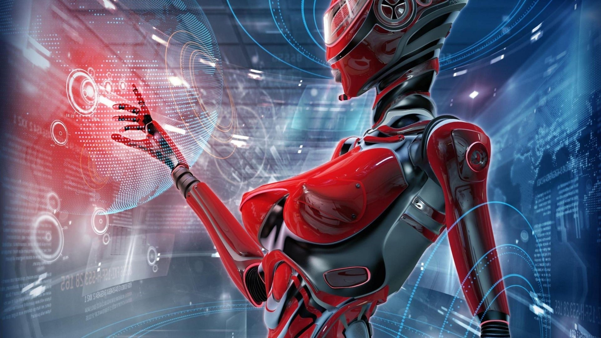 Cyborg Wallpaper Image