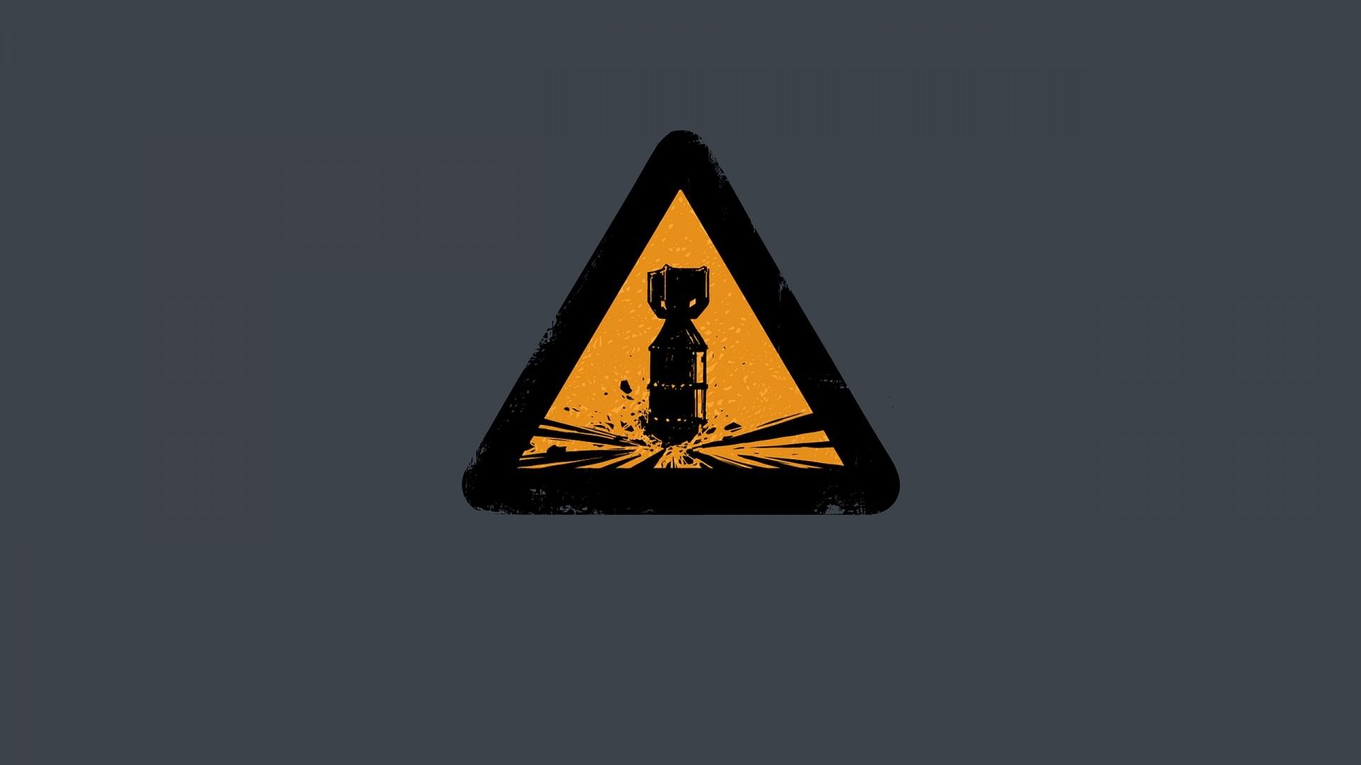 Danger Background Wallpaper