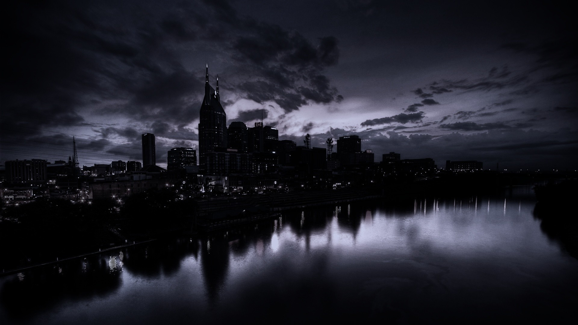 dark city wallpaper 1920x1080 1
