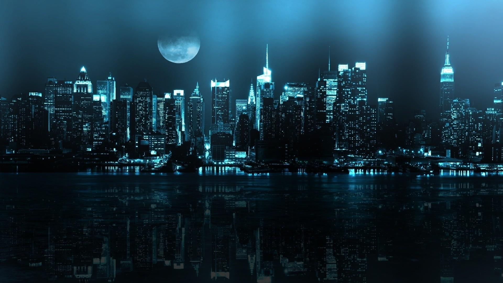 Dark City Wallpaper 1920x1080