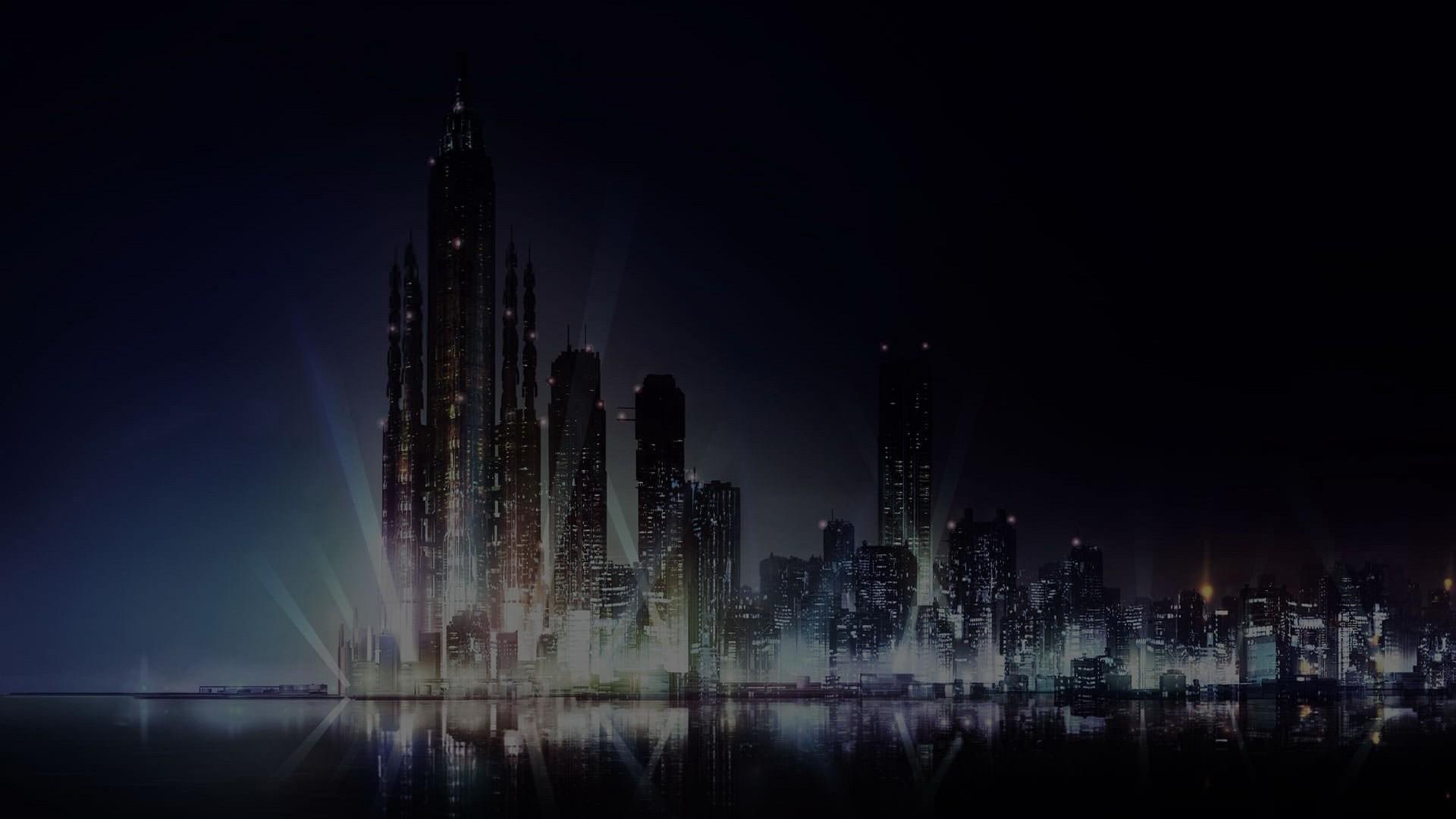 Dark City Wallpaper Desktop
