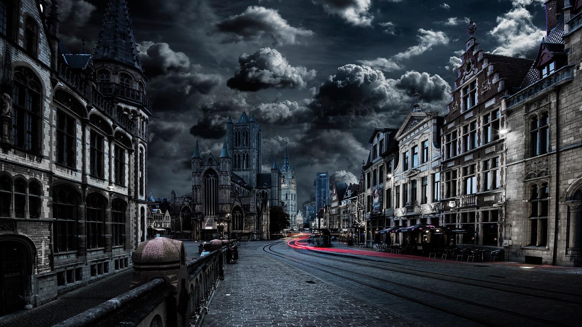 Dark City Wallpaper Free