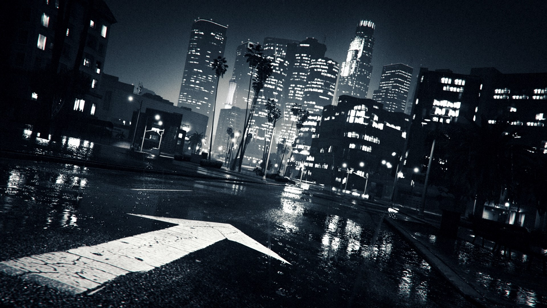 Dark City Wallpaper Free Download