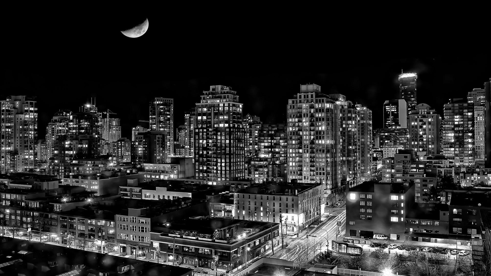 Dark City Wallpaper Full HD