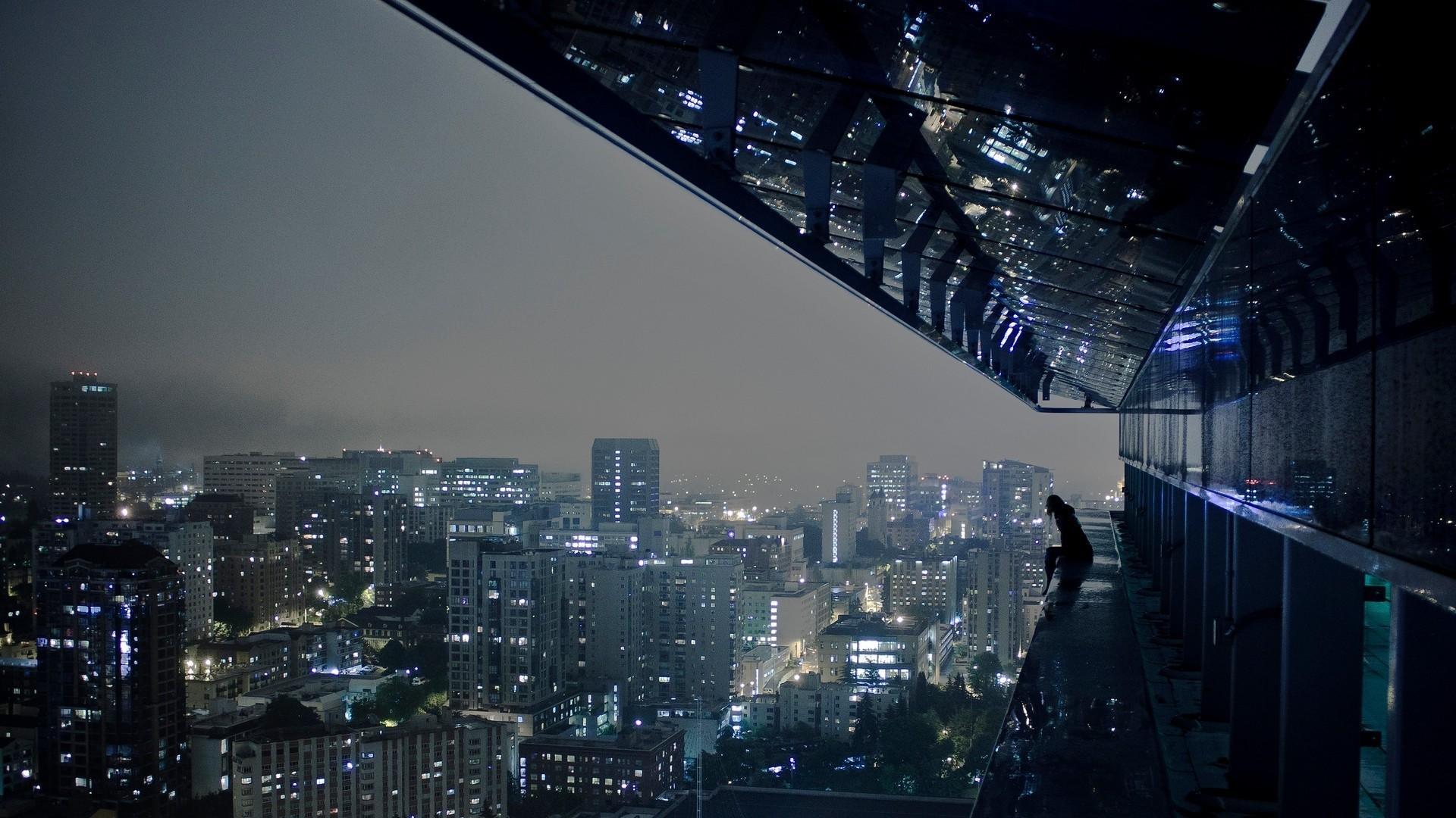 Dark City Wallpaper HD