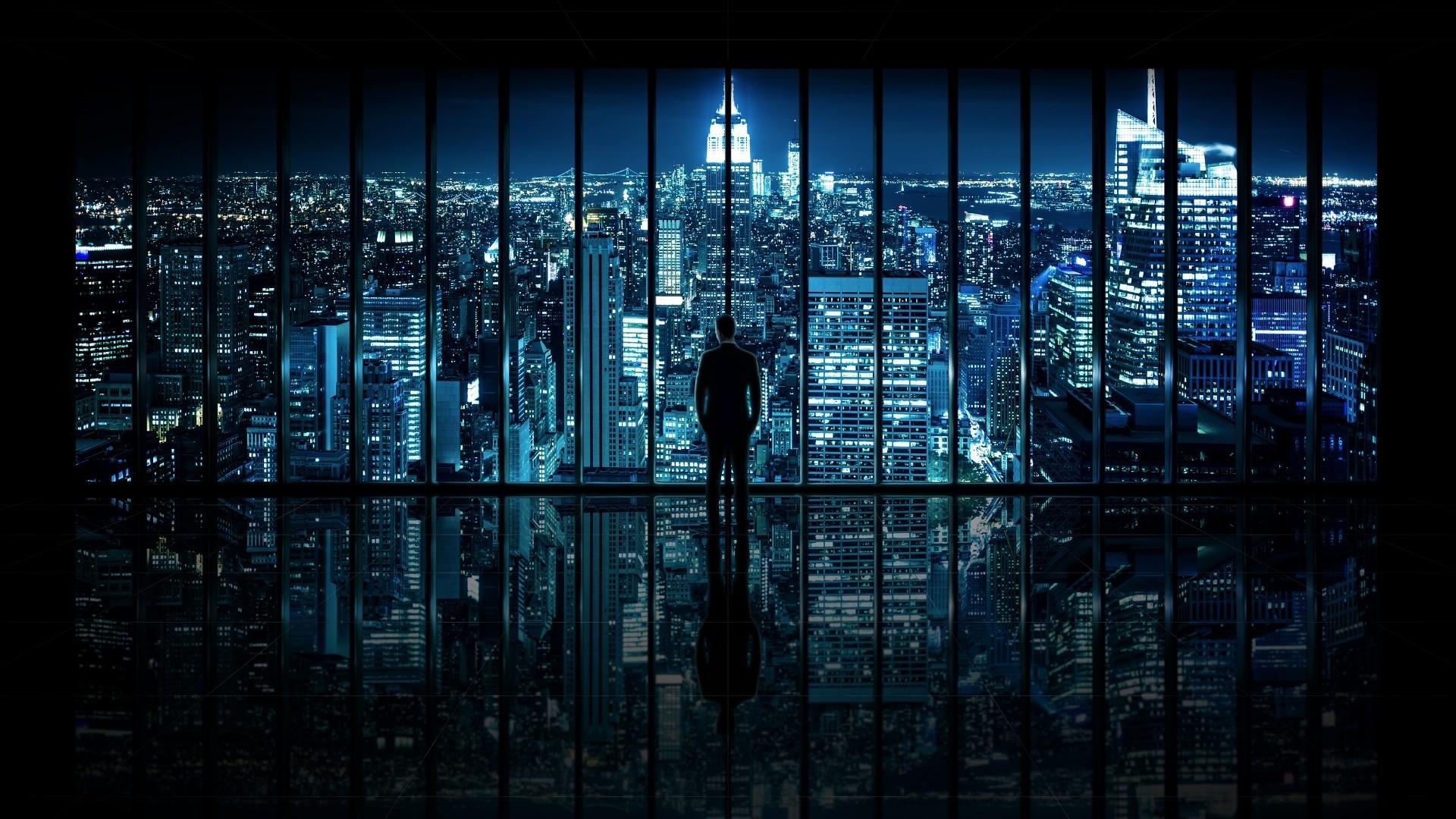 Dark City Wallpaper Image