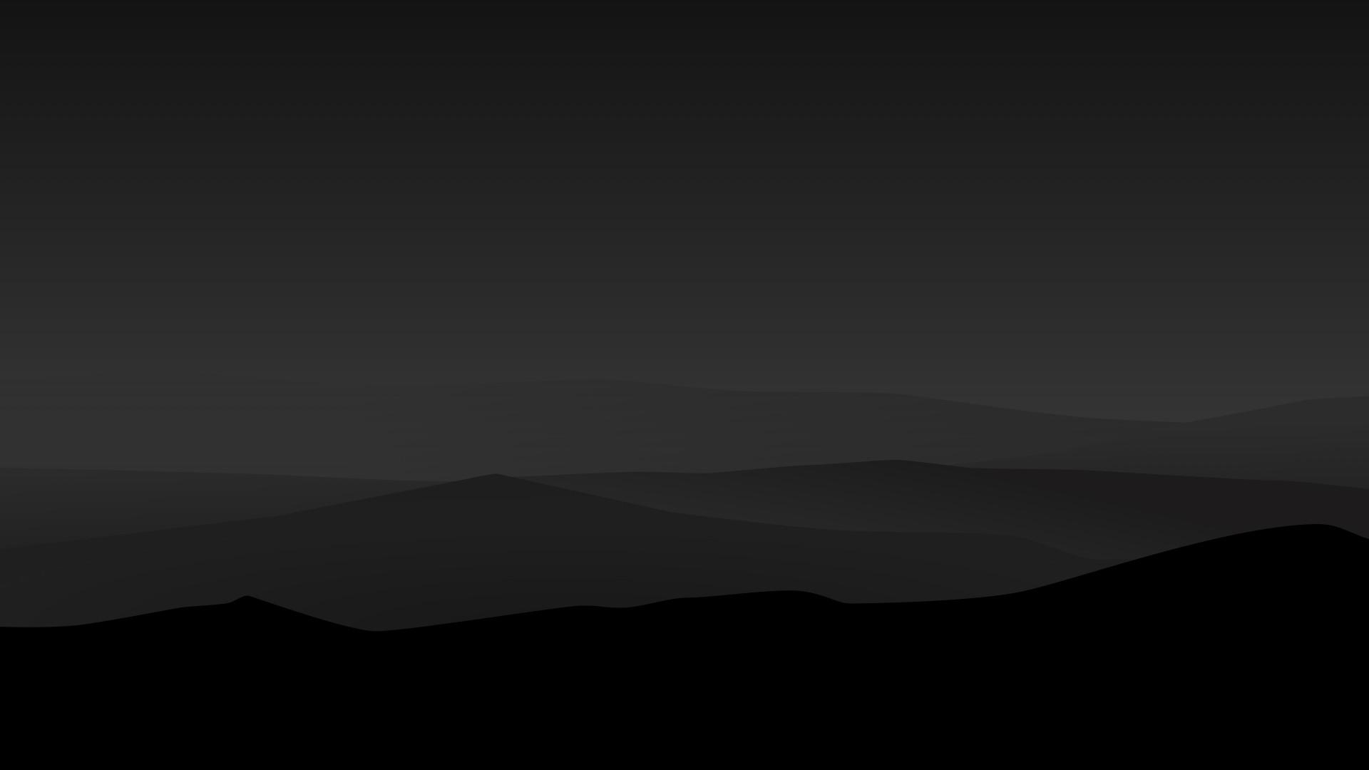 Dark Minimalist HD wallpaper