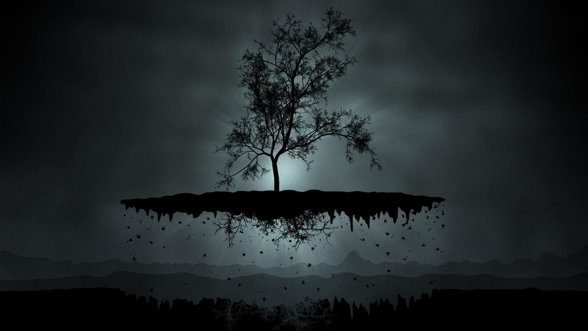 Dark Minimalist Wallpaper