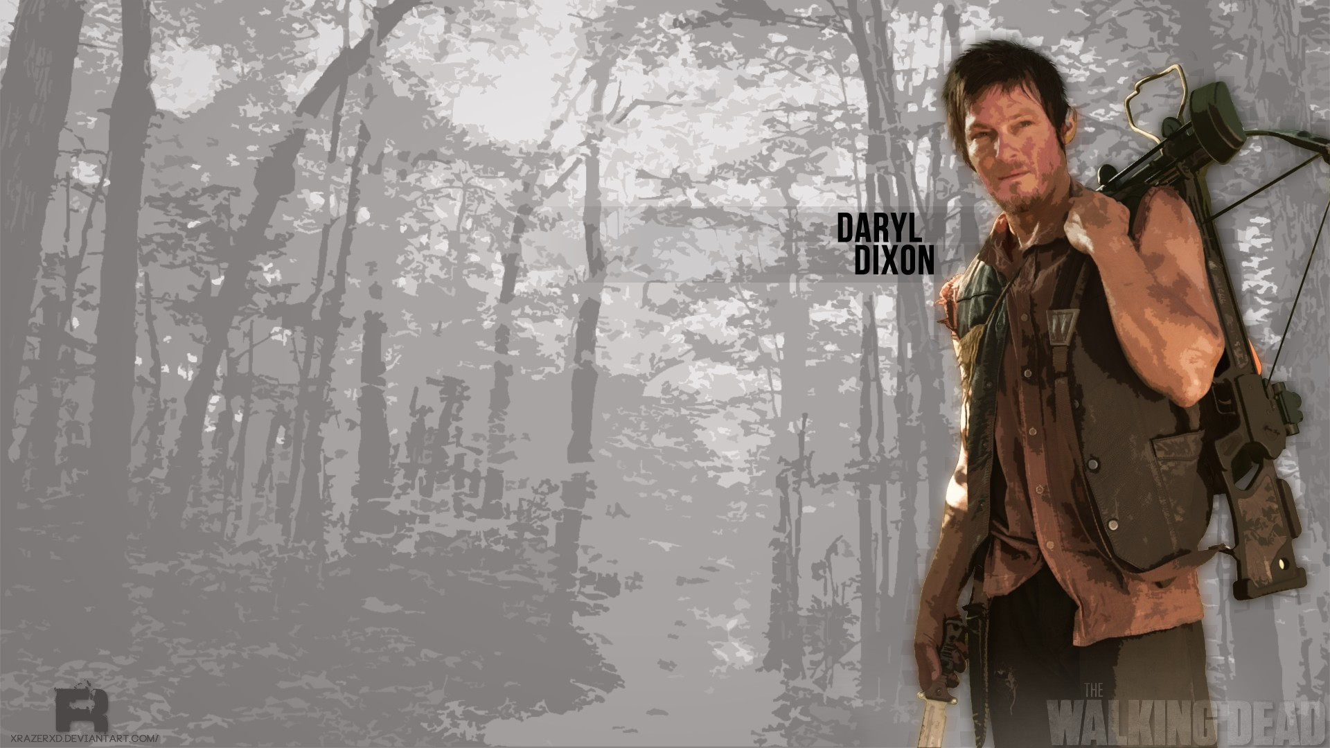 Daryl Dixon background wallpaper