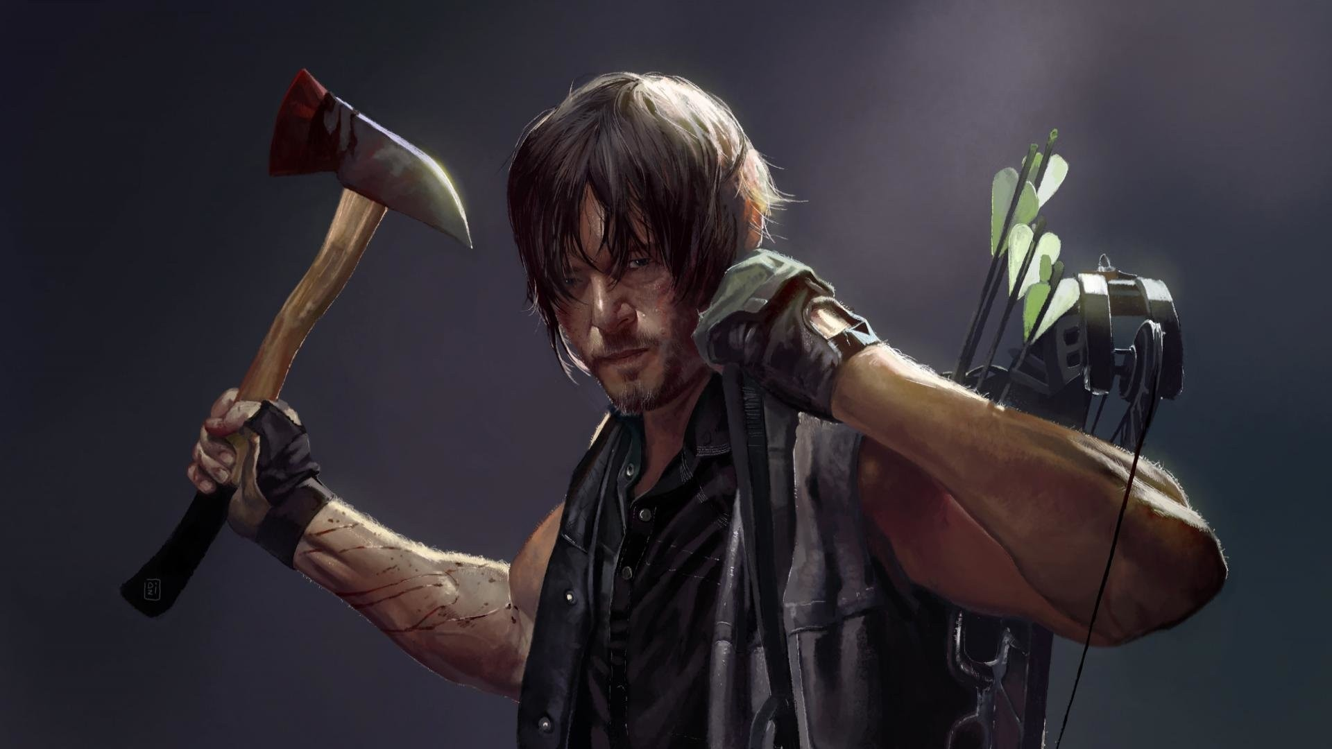 Daryl Dixon Desktop Wallpaper