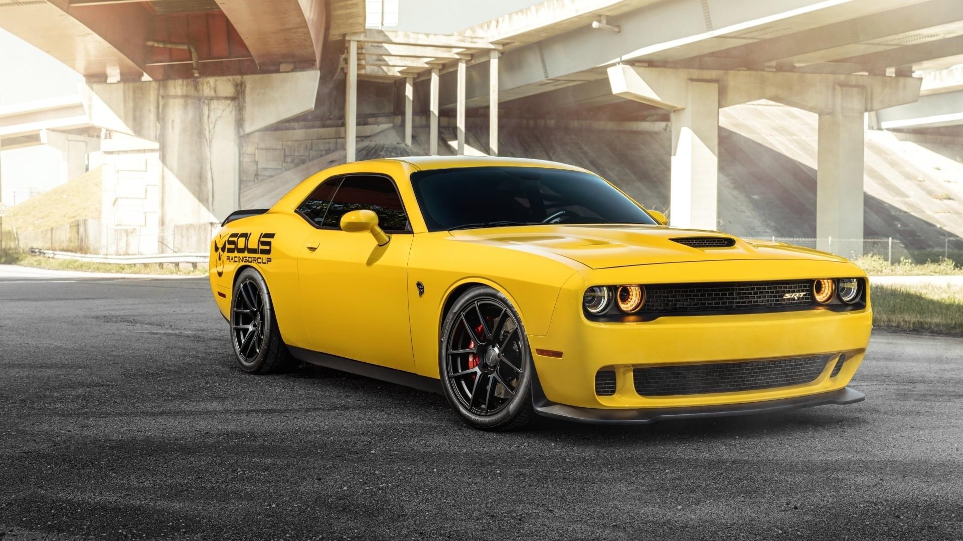 Dodge Challenger Srt Hellcat Wallpaper Image