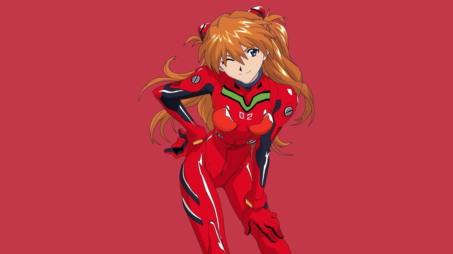 Evangelion Asuka Wallpaper Desktop