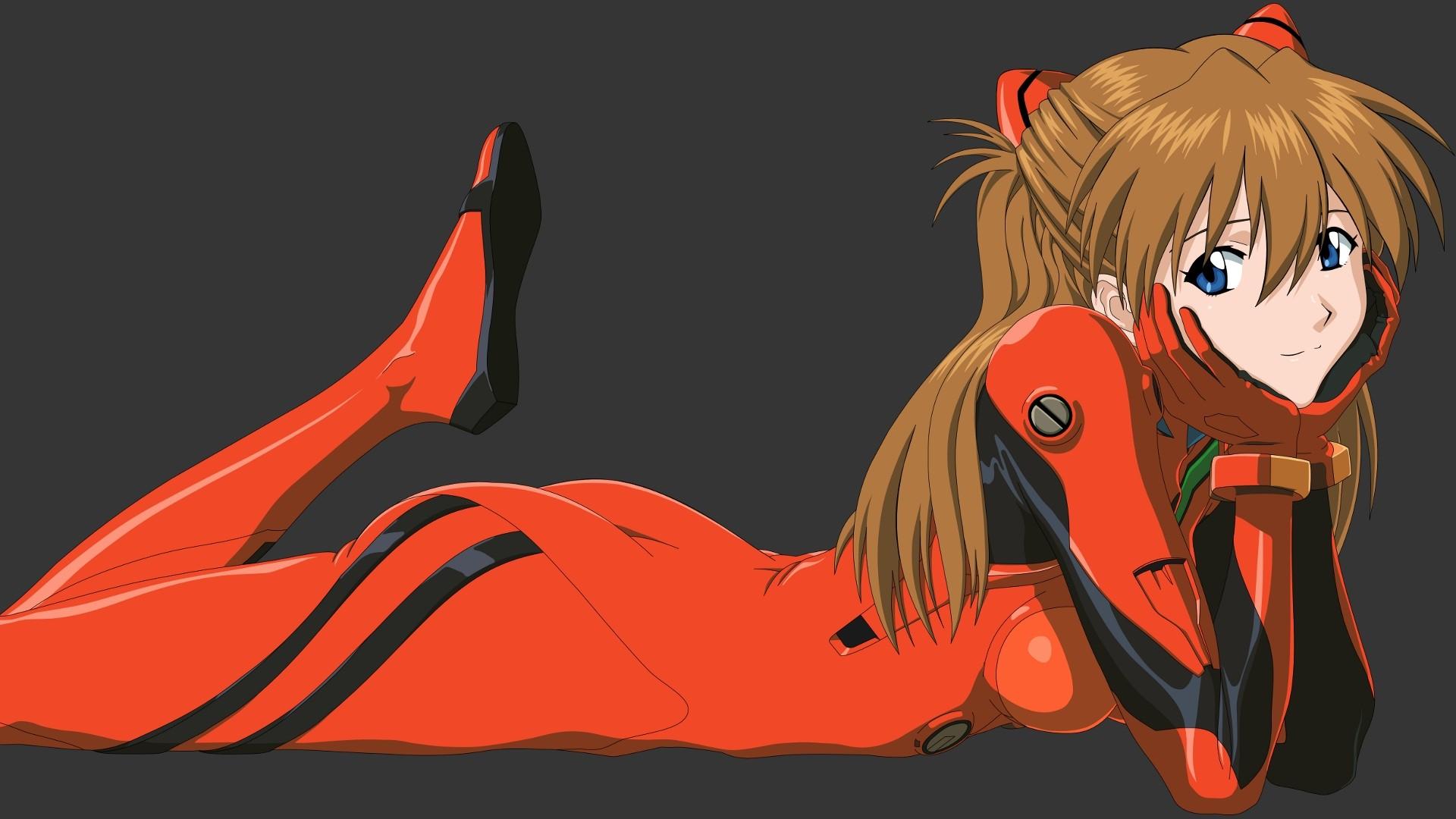 Evangelion Asuka Wallpaper Image