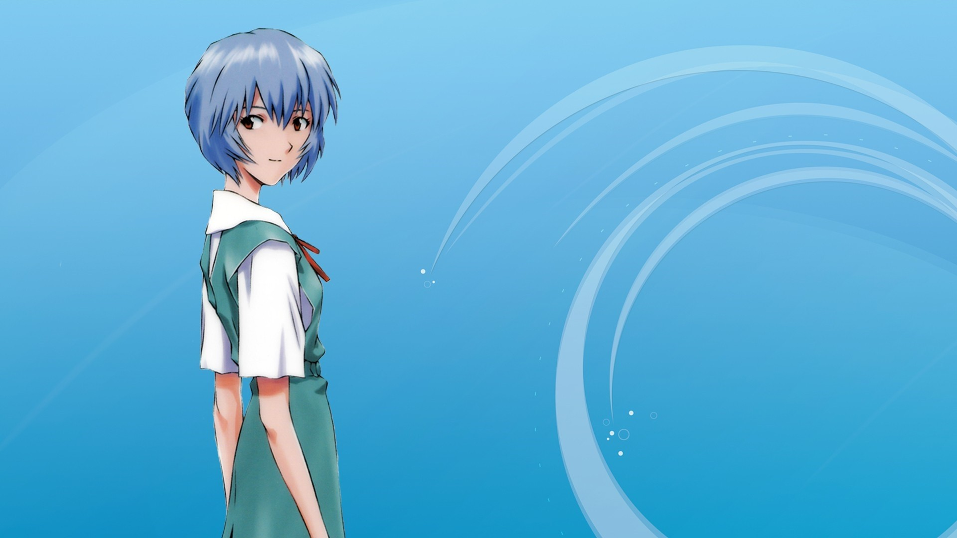 Evangelion Rei Wallpaper HD