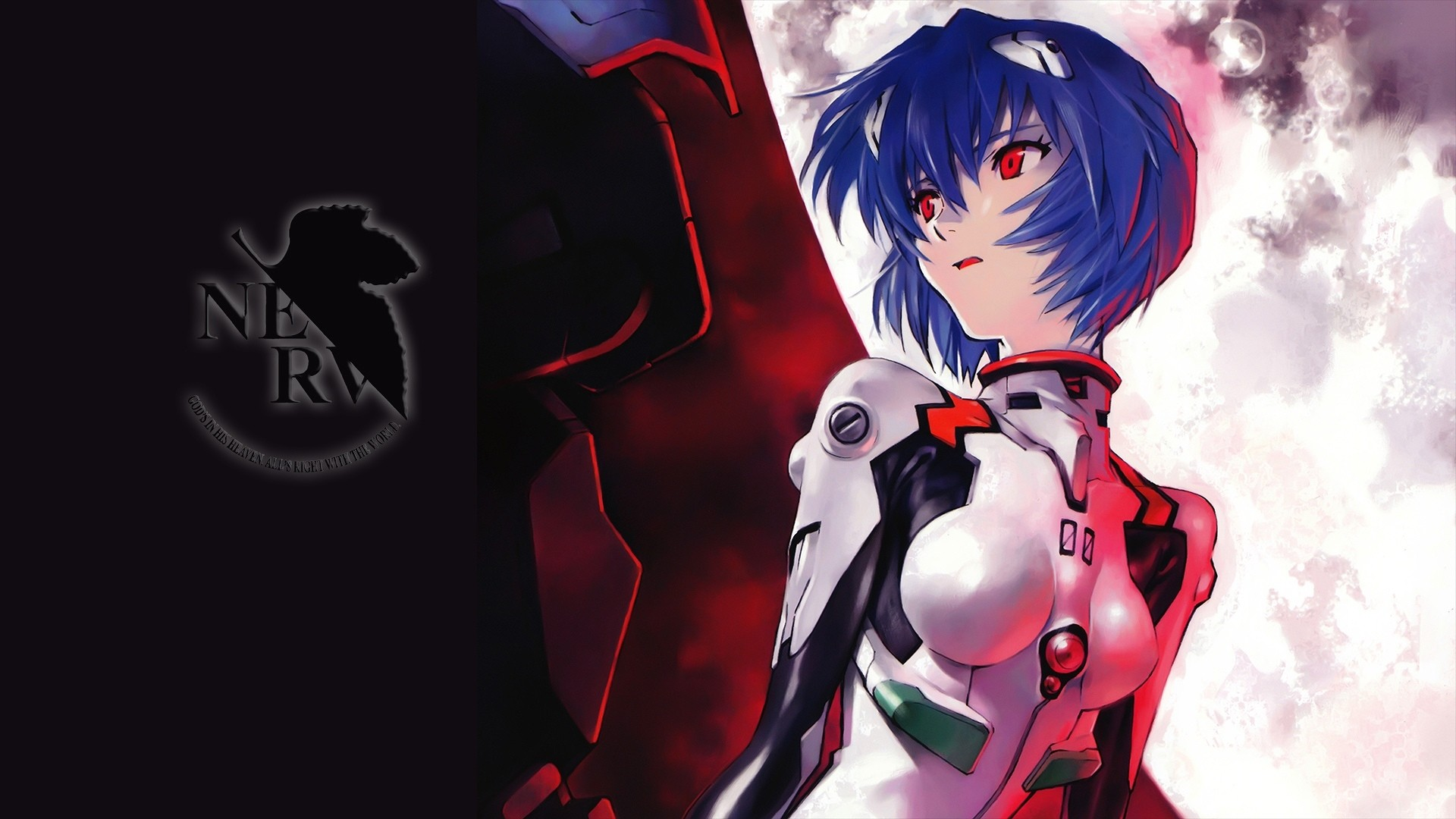 Evangelion Rei Wallpaper Image