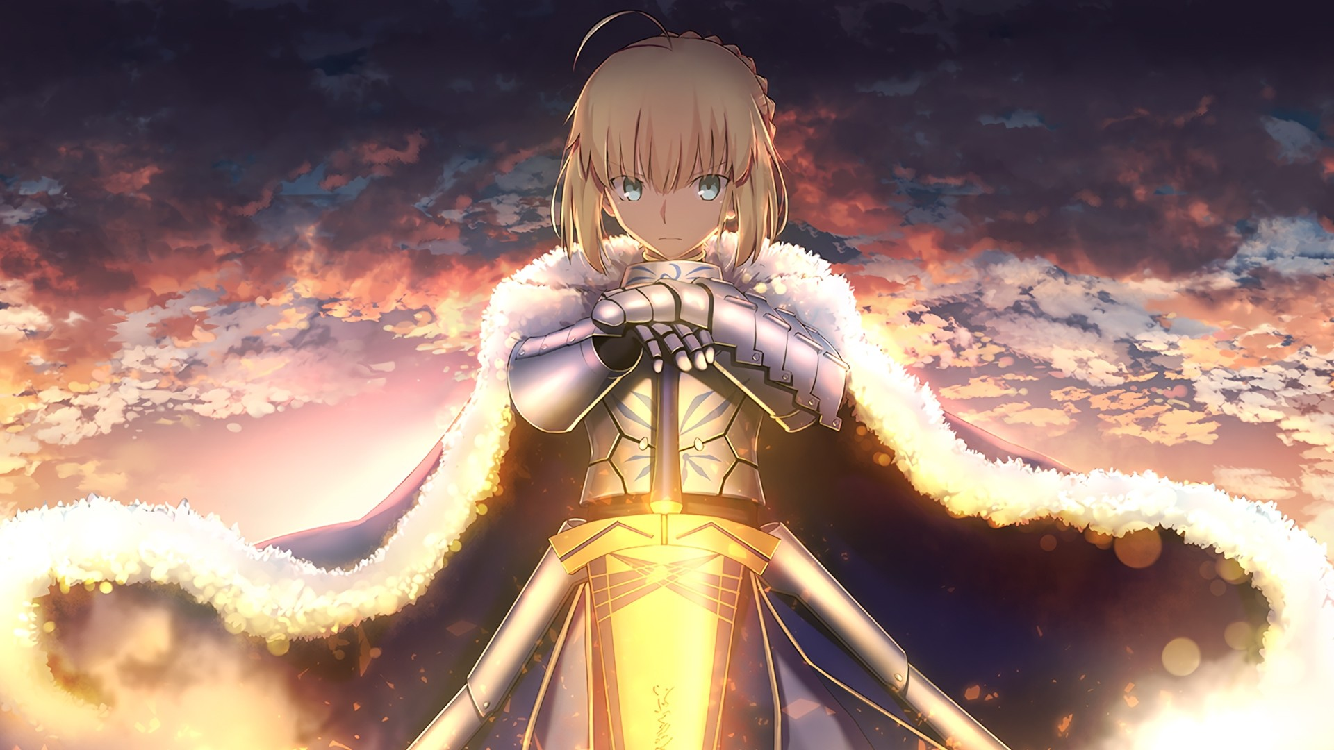 Fate Stay Night Saber Wallpaper 1920x1080