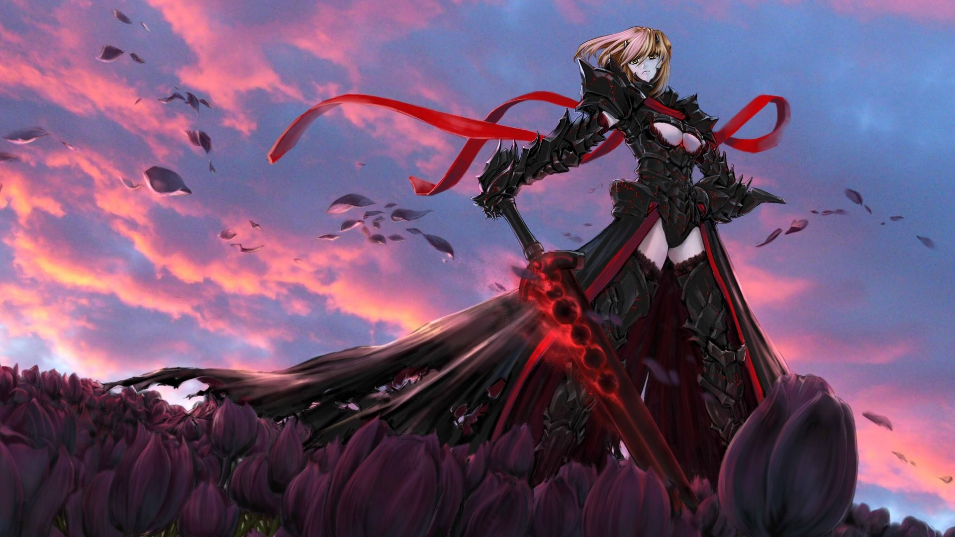 Fate Stay Night Saber Wallpaper Desktop