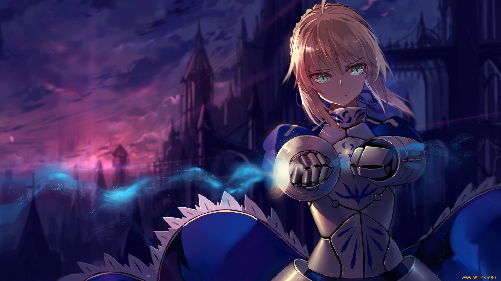 Fate Stay Night Saber Wallpaper Download