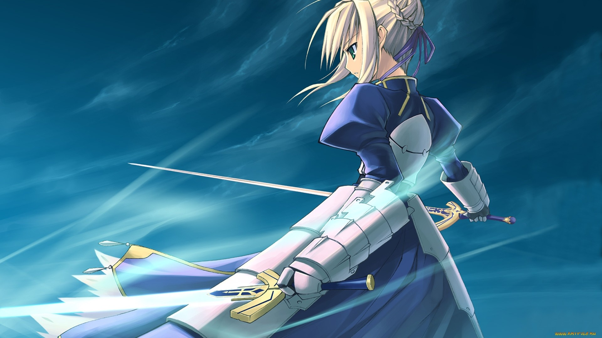 Fate Stay Night Saber Wallpaper Download Full