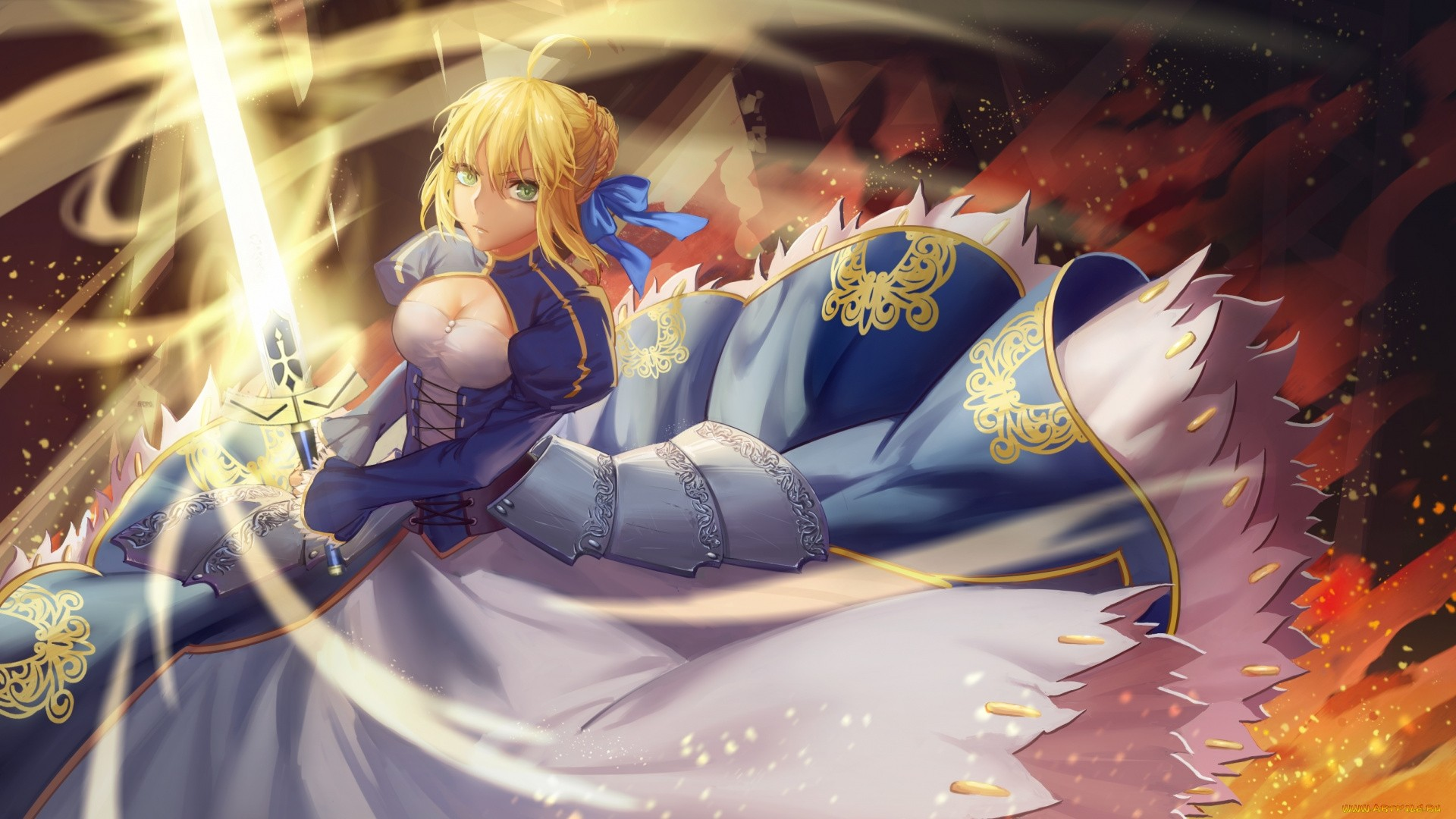 Fate Stay Night Saber Wallpaper Free