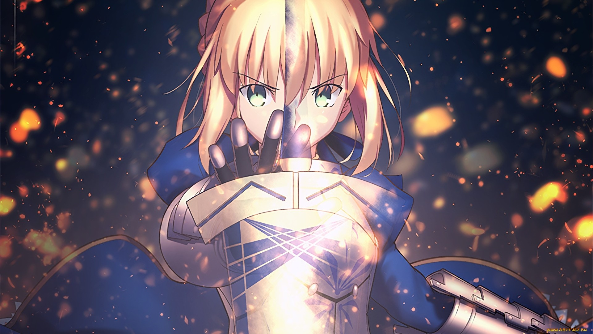 Fate Stay Night Saber Wallpaper Free Download