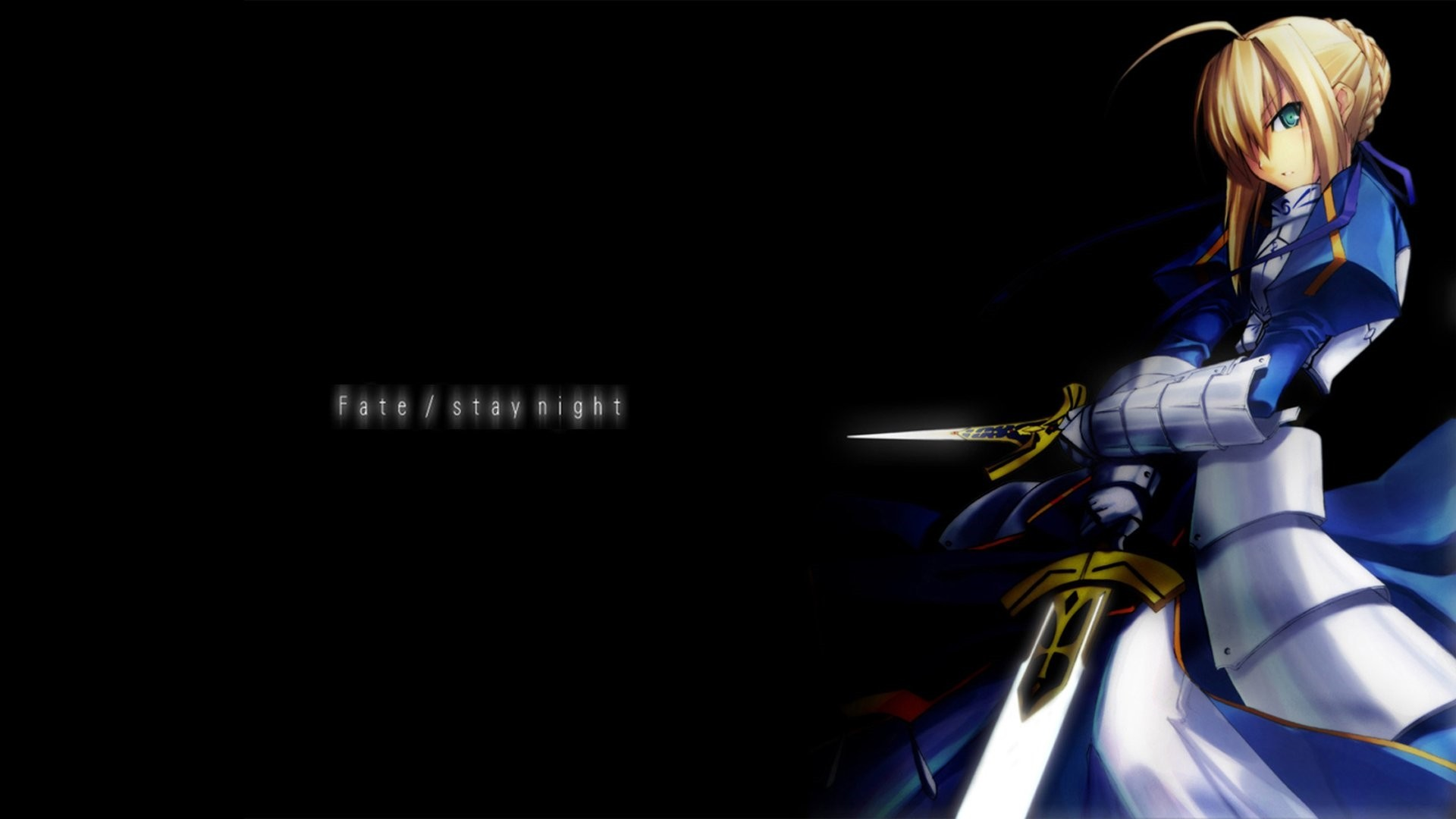 Fate Stay Night Saber Wallpaper Image