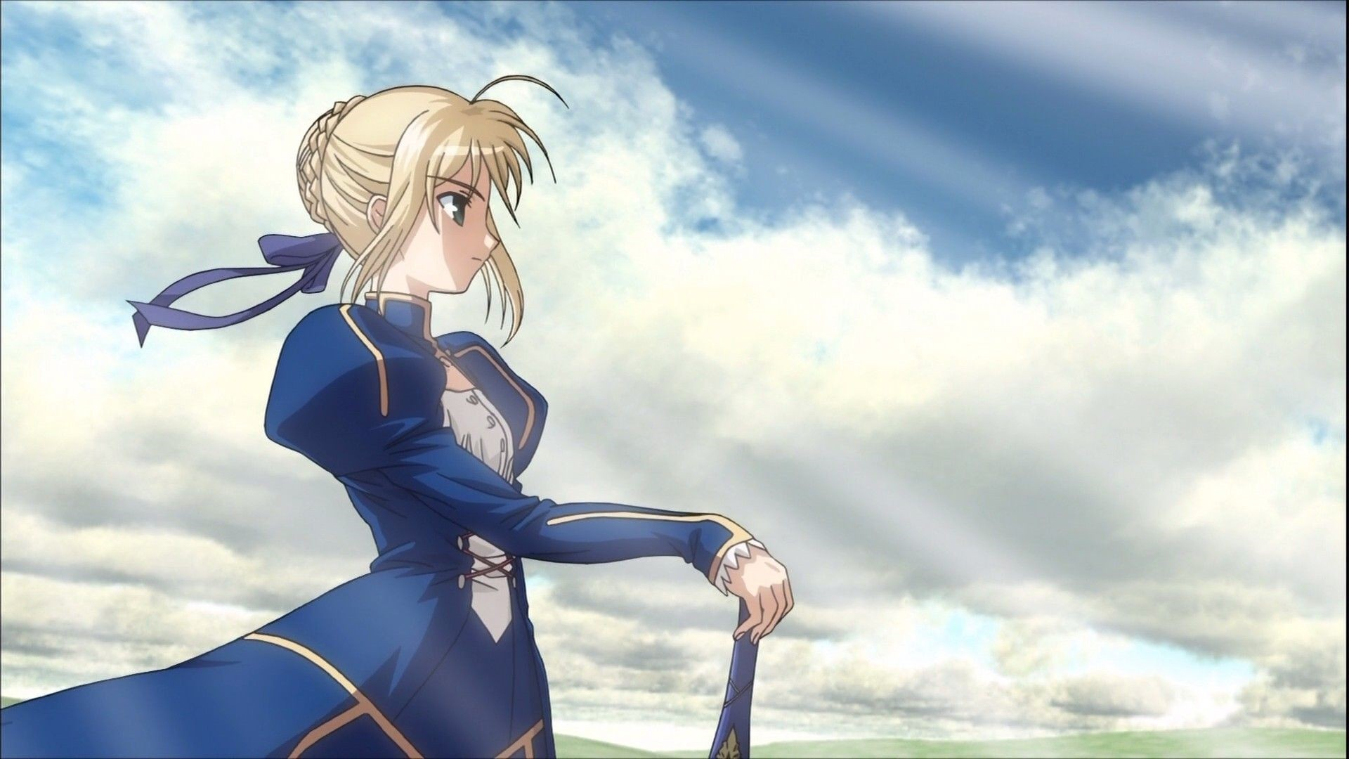 Fate Stay Night Saber Wallpaper Pic