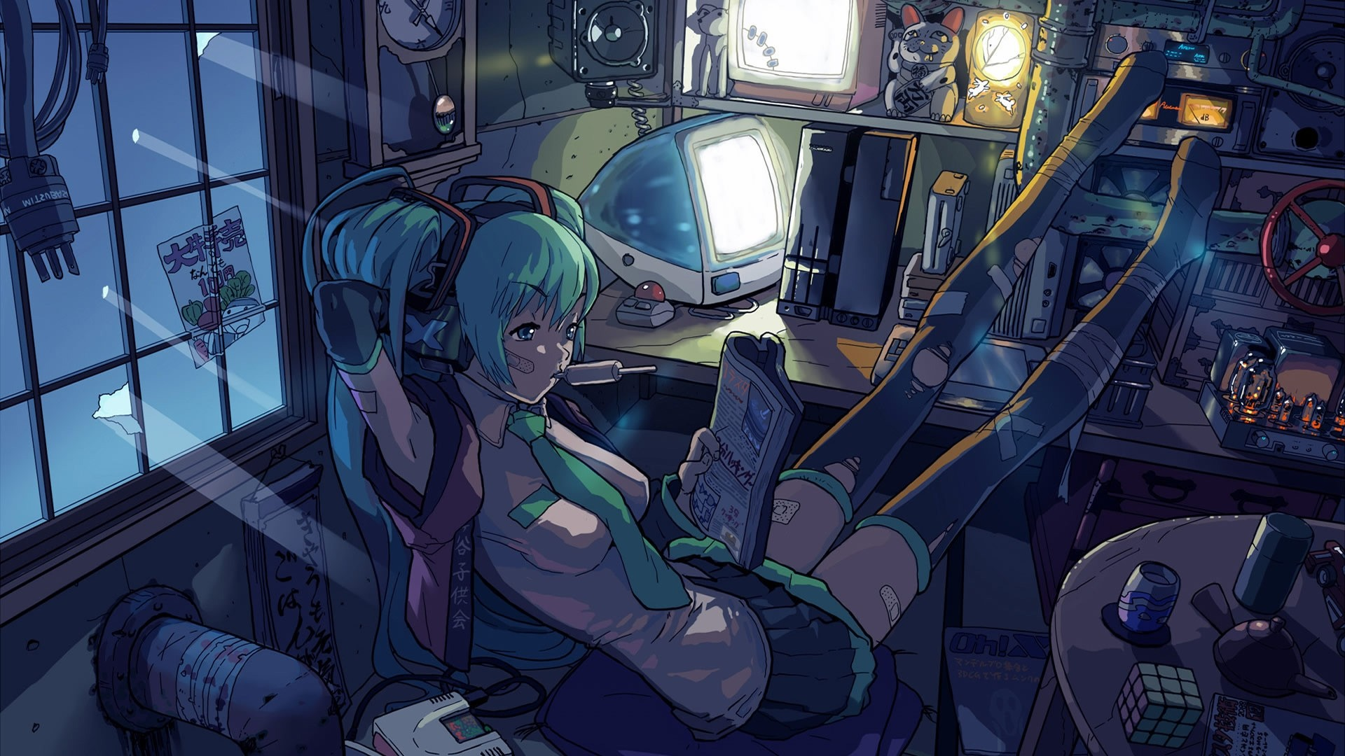 Gamer Girl download nice wallpaper