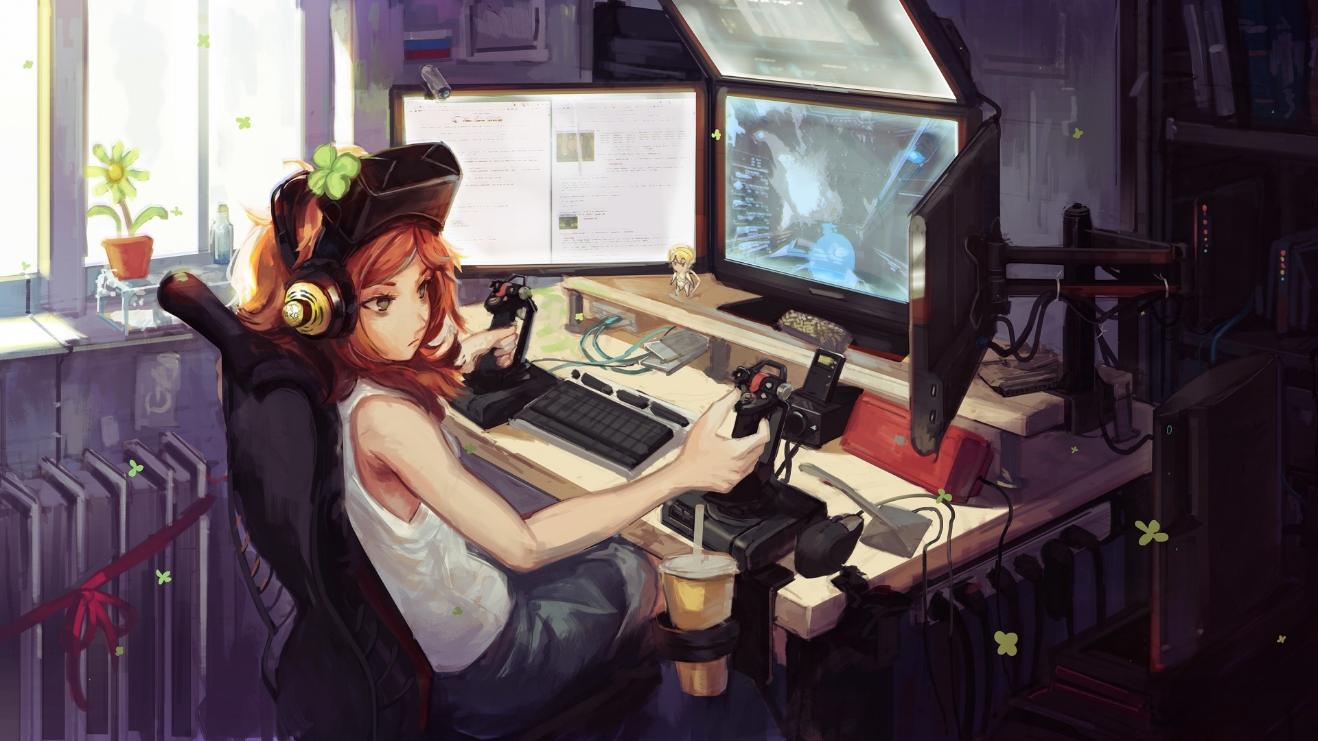 Gamer Girl Picture
