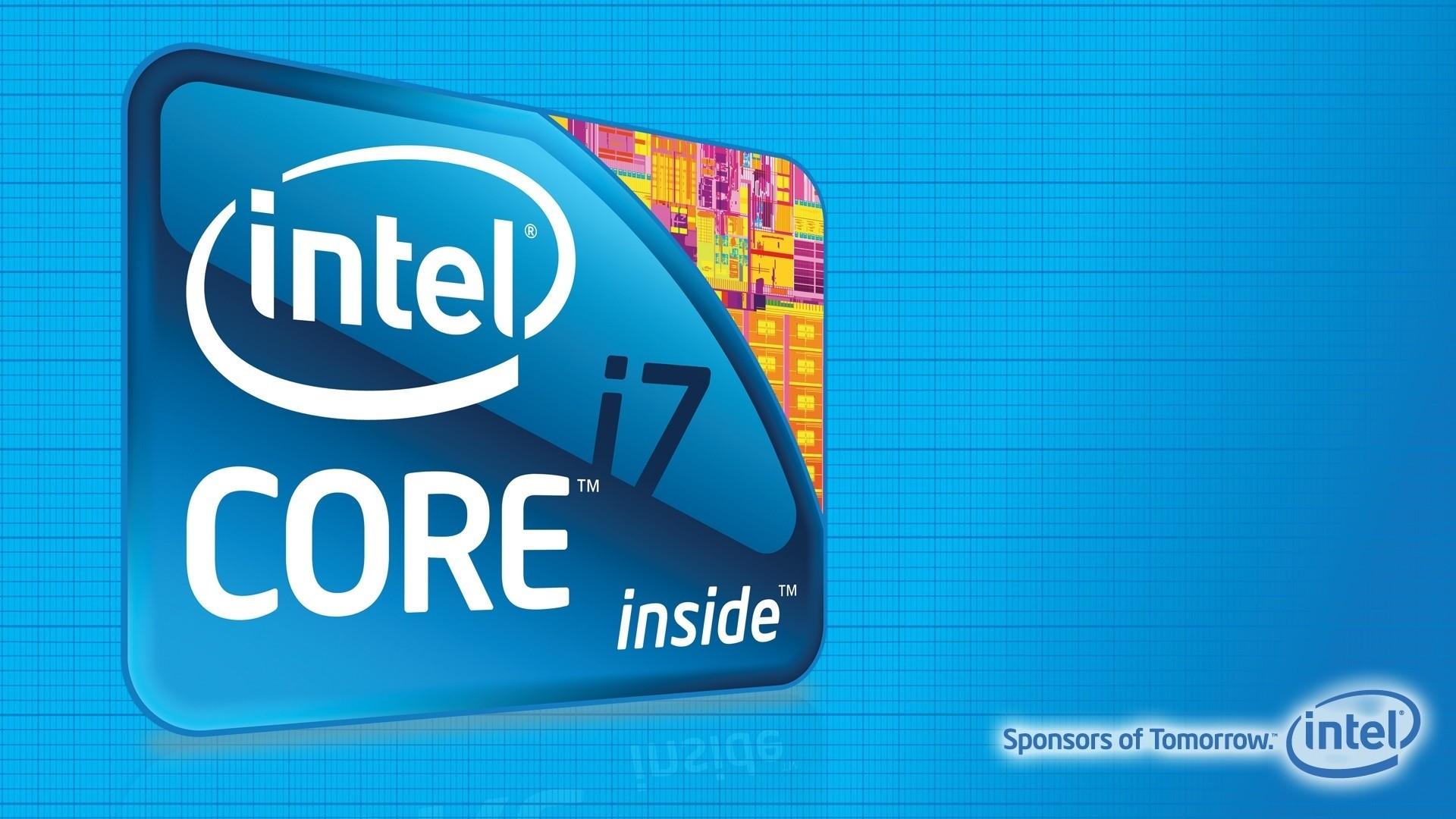 Intel Wallpaper Image