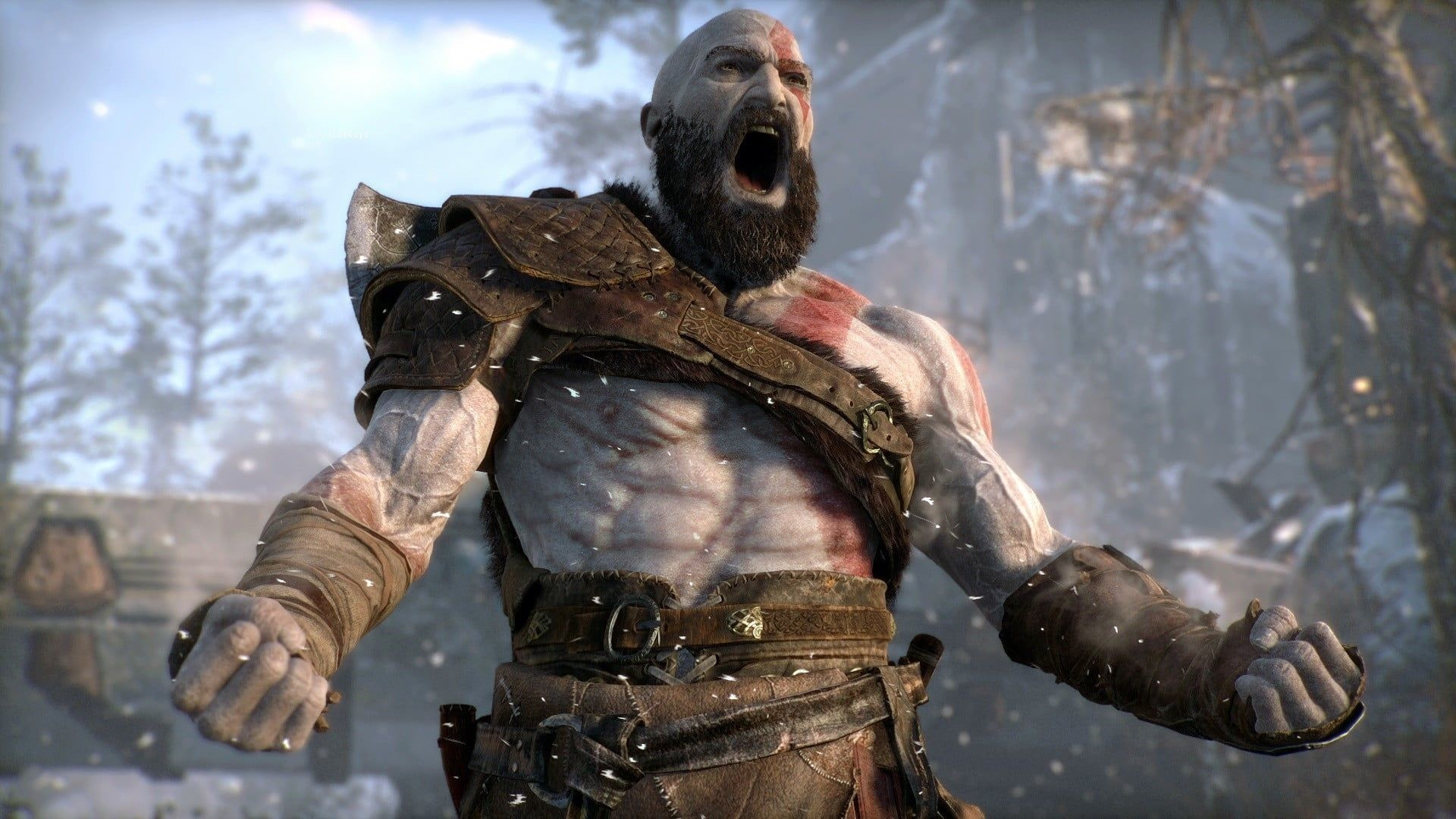 Kratos Wallpaper 1920x1080