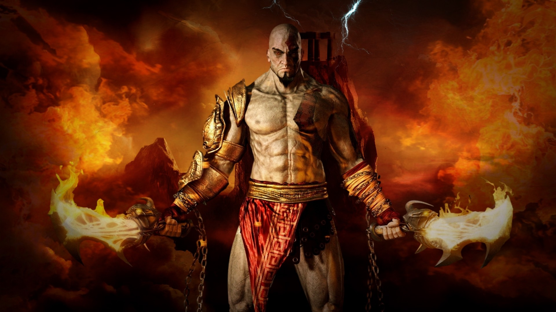 Kratos Wallpaper Desktop