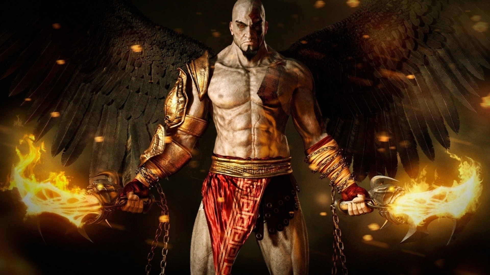 Kratos Wallpaper Image