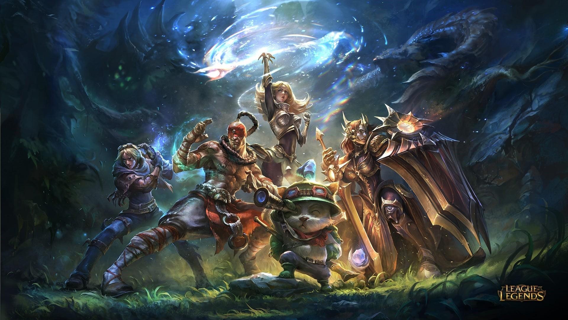 League Of Legends full wallpaper