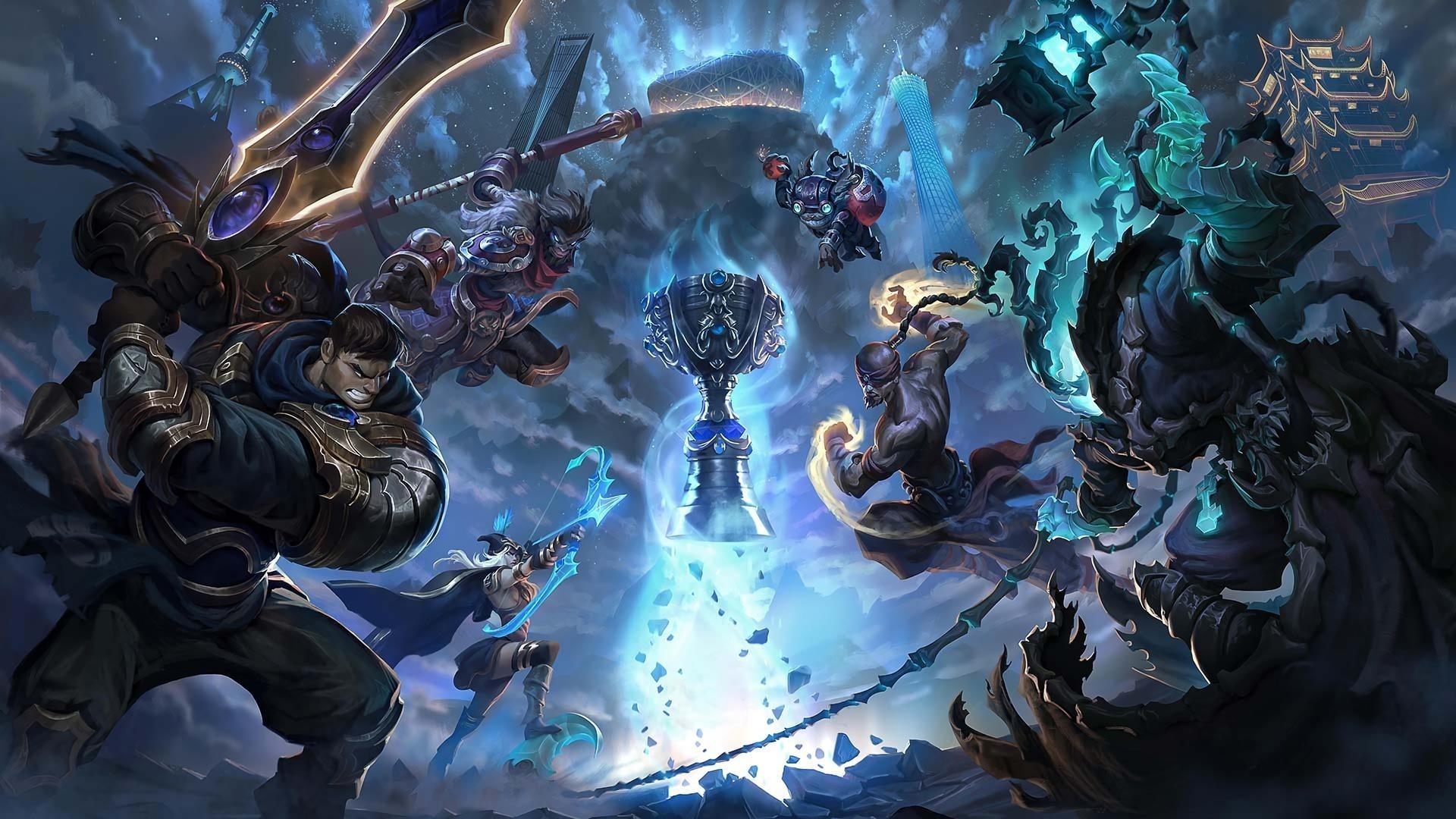League Of Legends 1920x1080 wallpaper