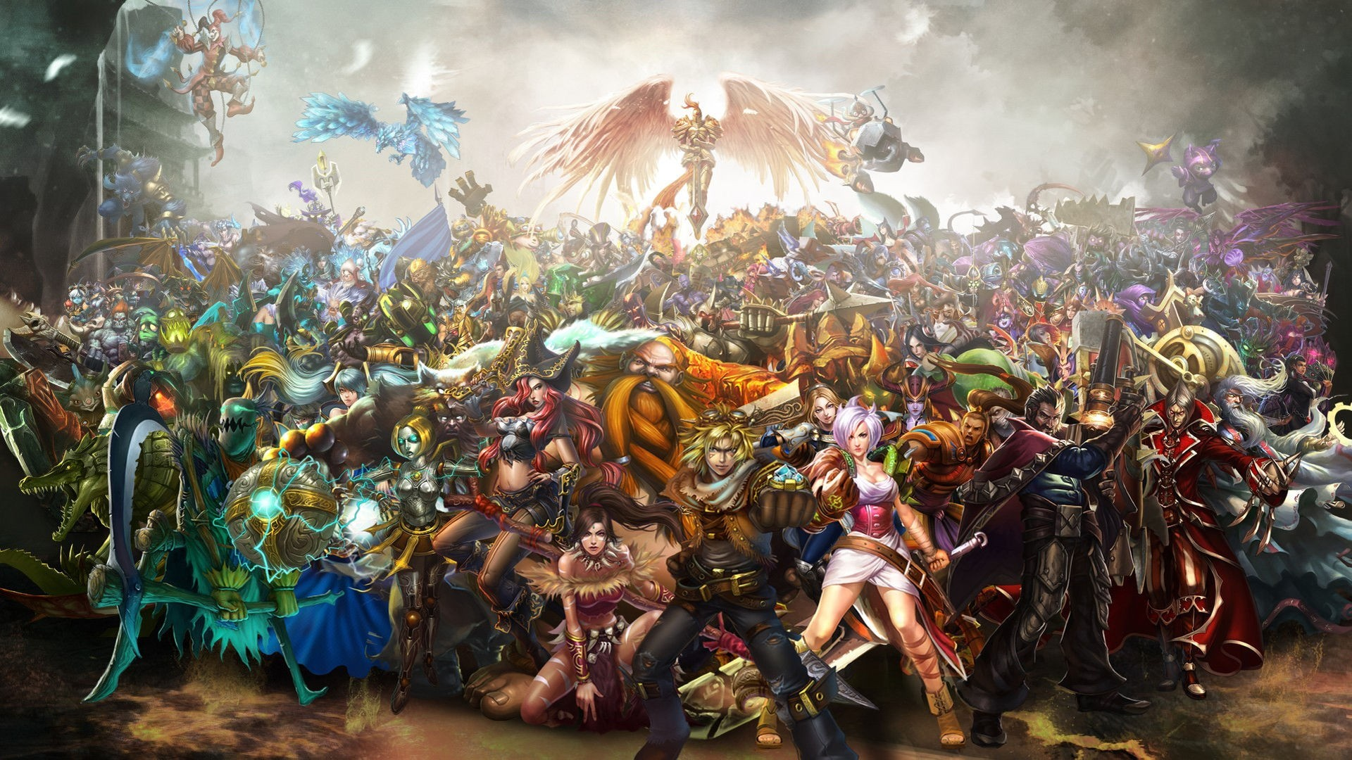League Of Legends hd wallpaper for laptop