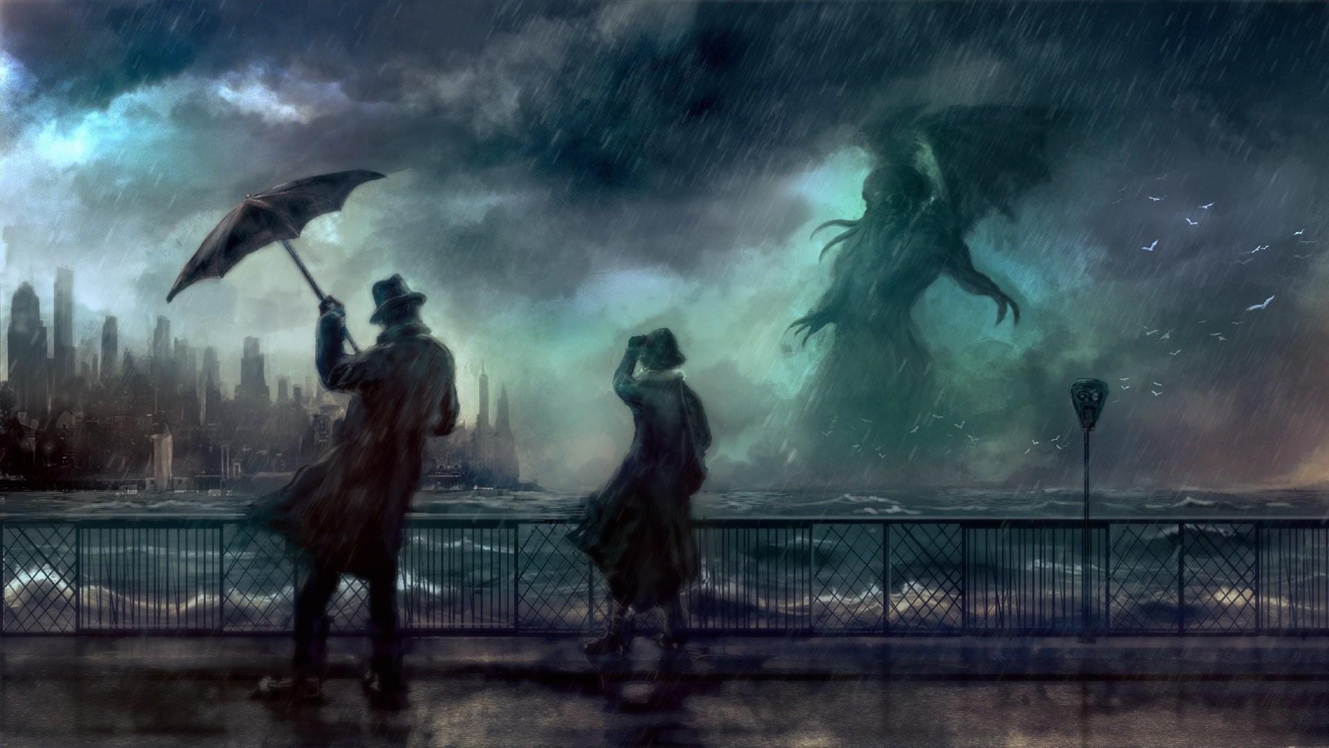 Lovecraft Wallpaper Full HD