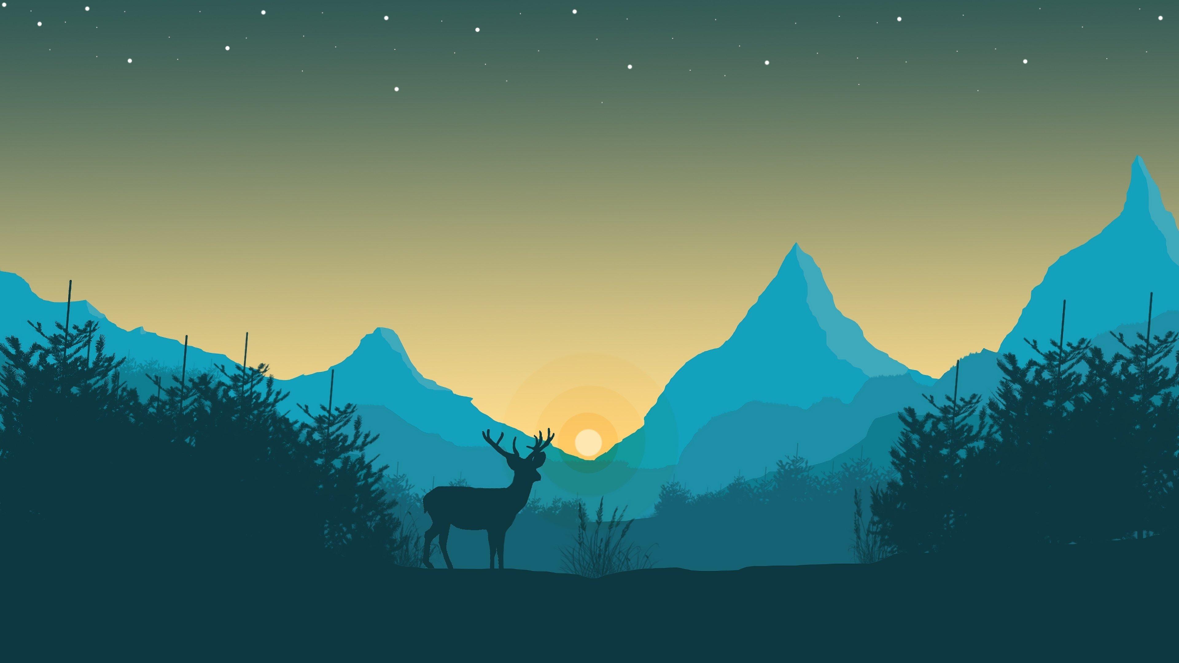 Minimalist 4k Wallpaper Image