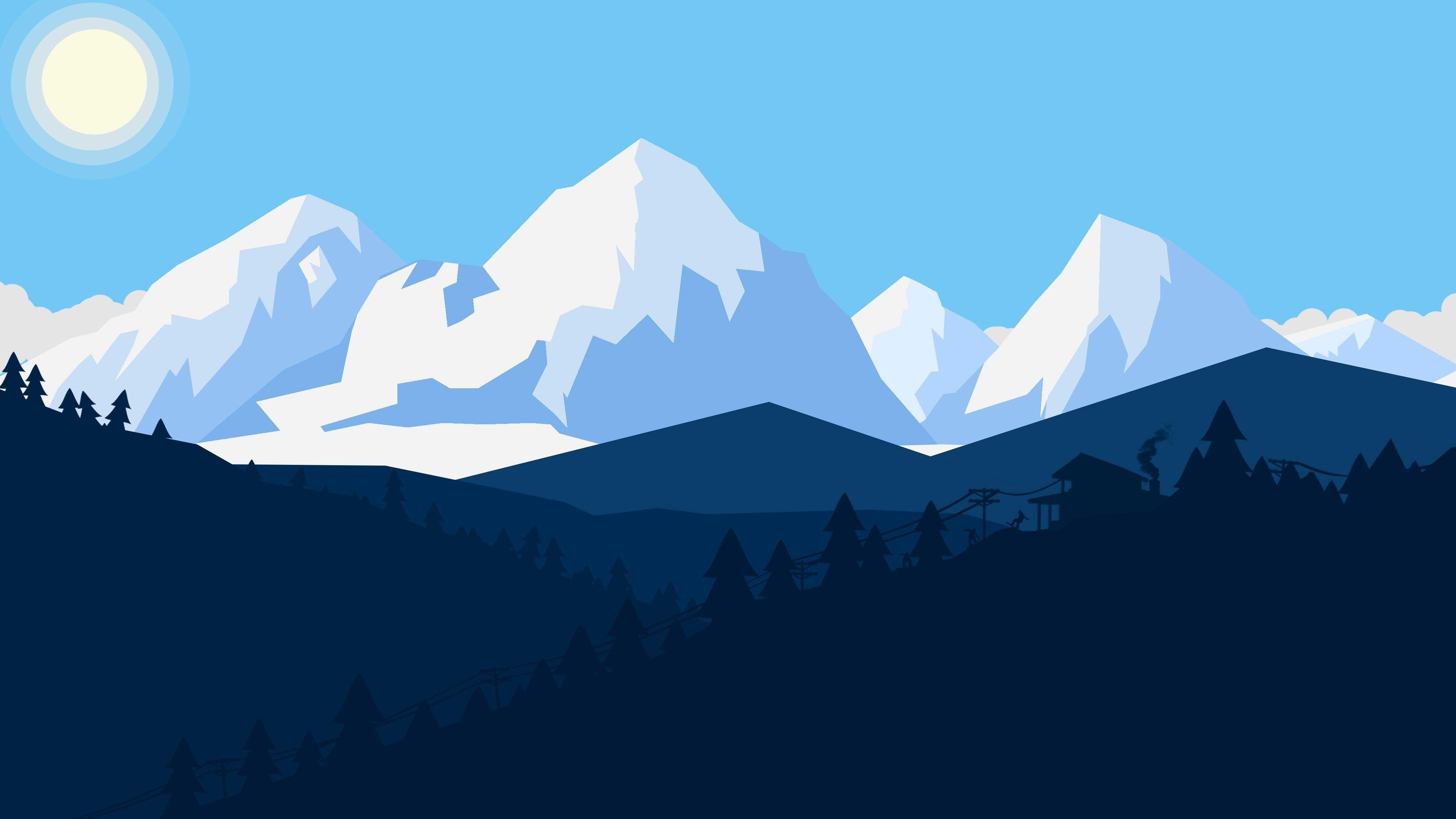 Minimalist 4k Wallpaper Pic