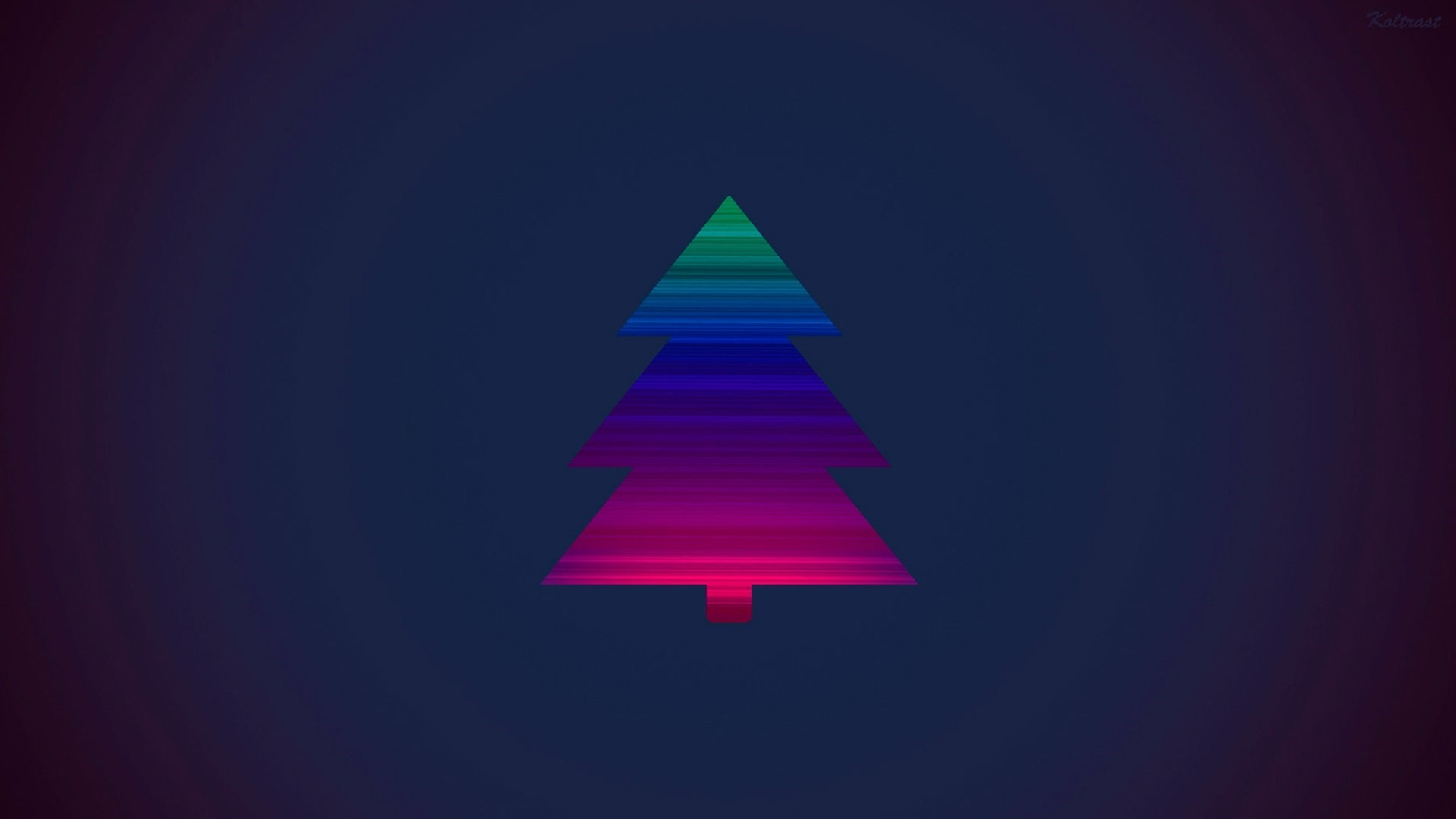 Minimalist Christmas Wallpaper 1920x1080
