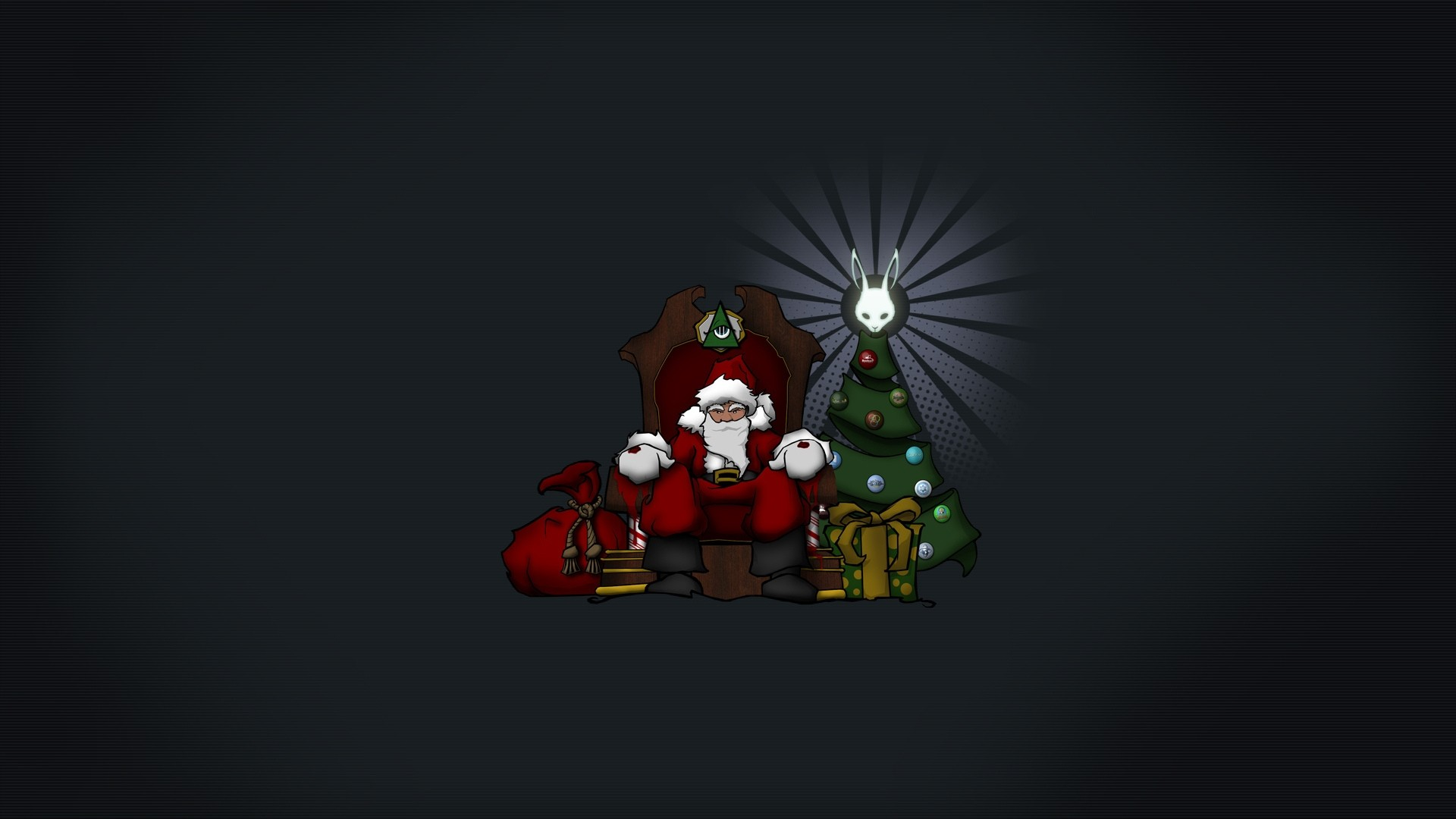 Minimalist Christmas Wallpaper Desktop
