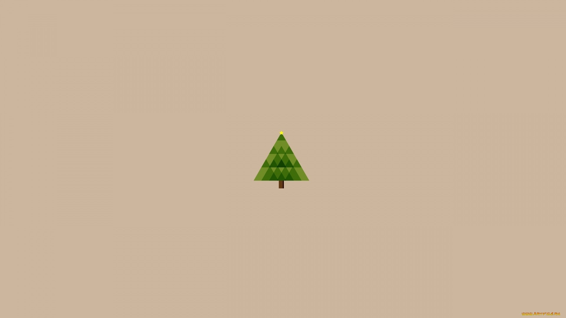 Minimalist Christmas Wallpaper For Pc