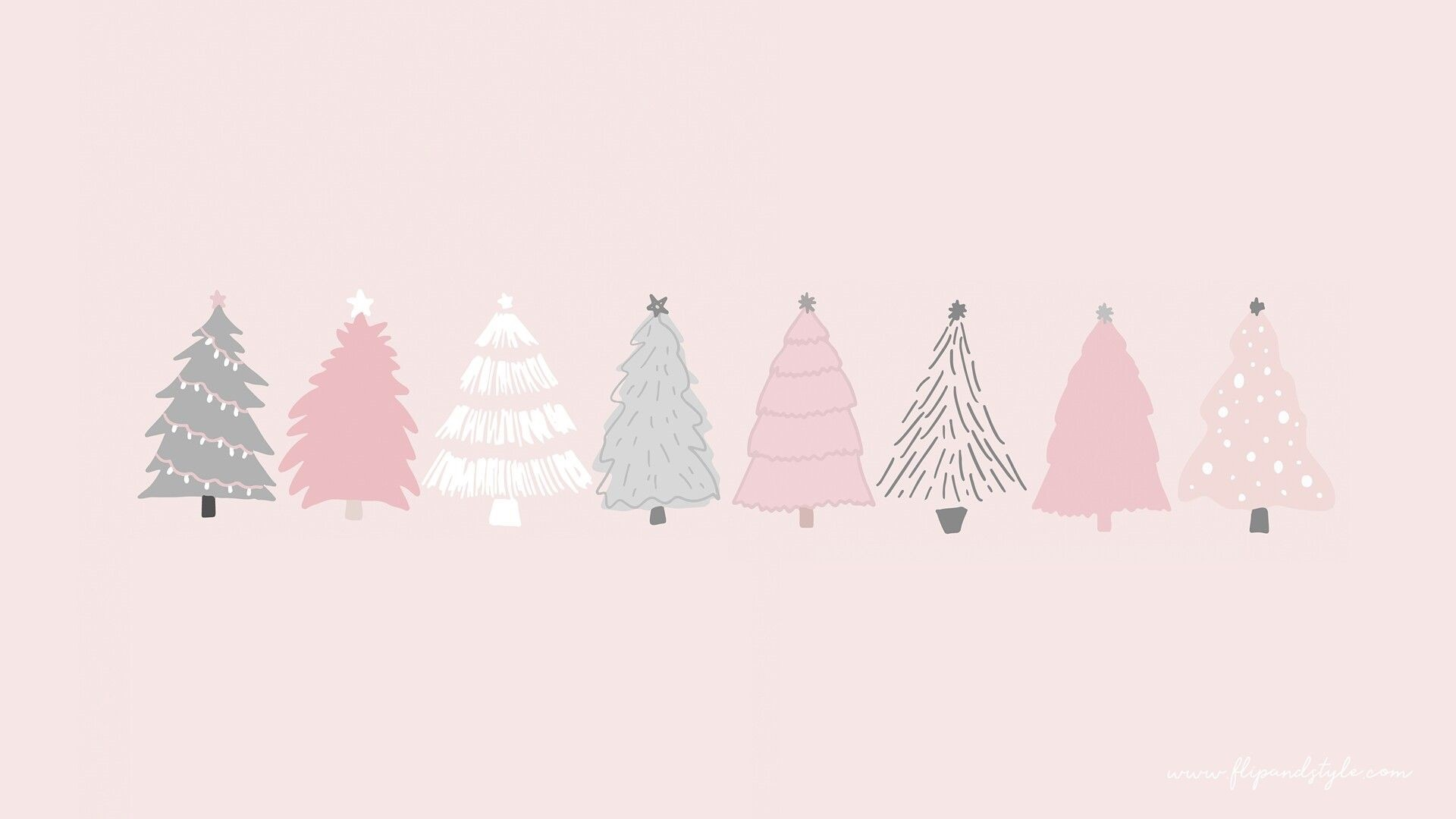 Minimalist Christmas Wallpaper Image