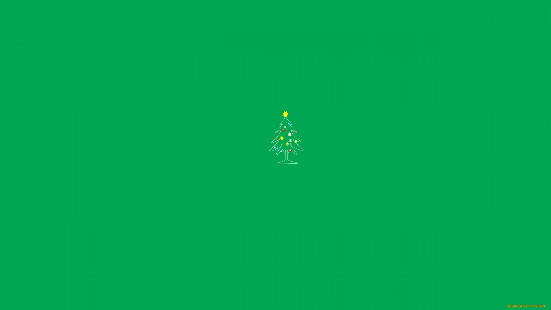 Minimalist Christmas Wallpaper Pic