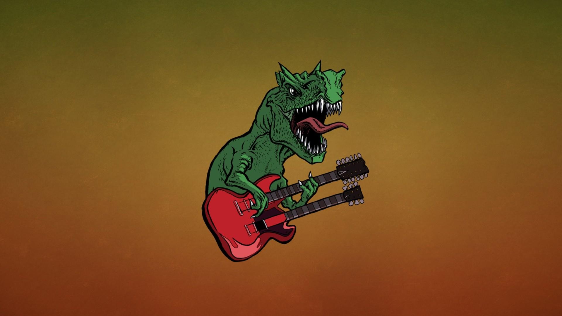 Minimalist Dinosaur Wallpaper 1920x1080