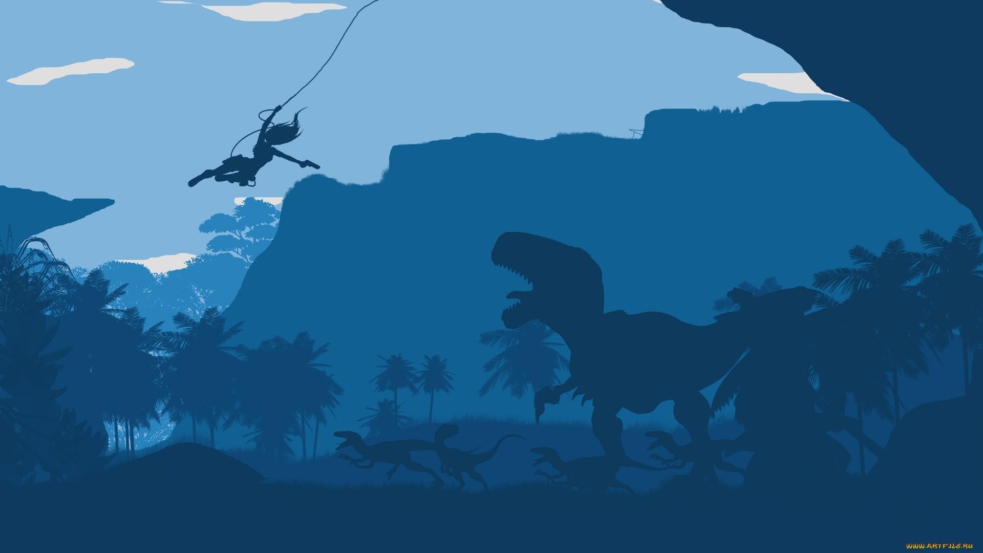 Minimalist Dinosaur Wallpaper Desktop